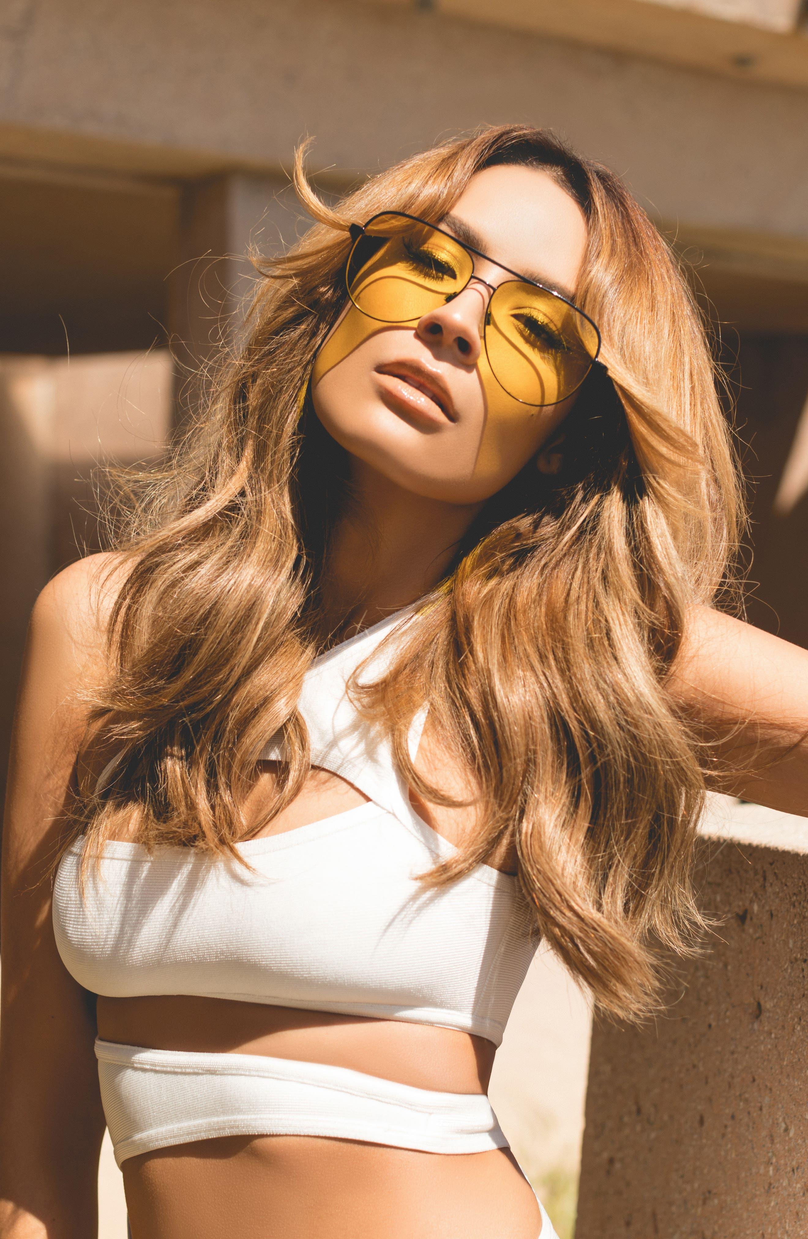 Alternate Image 2  - Quay Australia x Desi Perkins Sahara 60mm Aviator Sunglasses