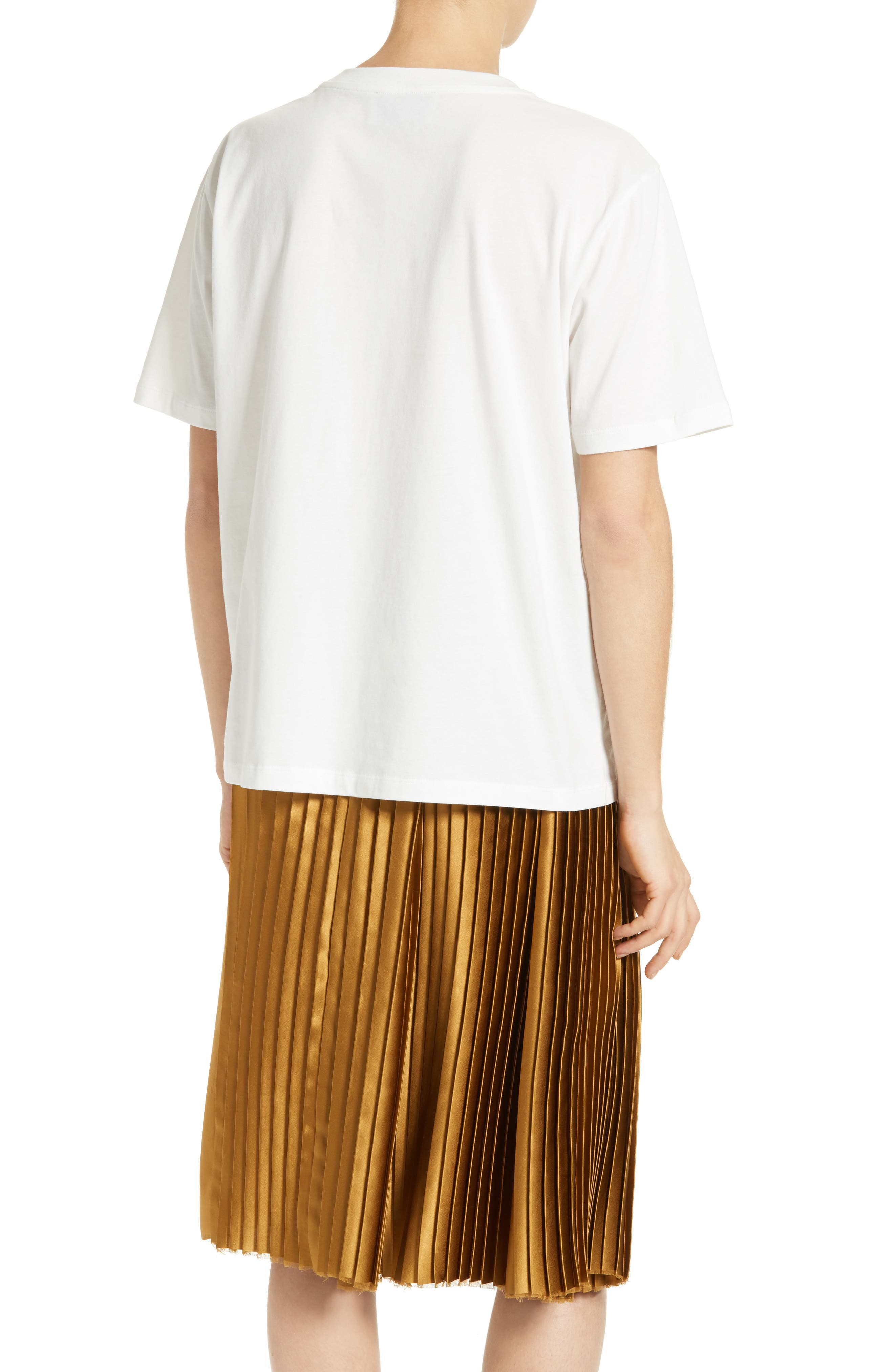 Adara Graphic Tee,                             Alternate thumbnail 2, color,                             Off White