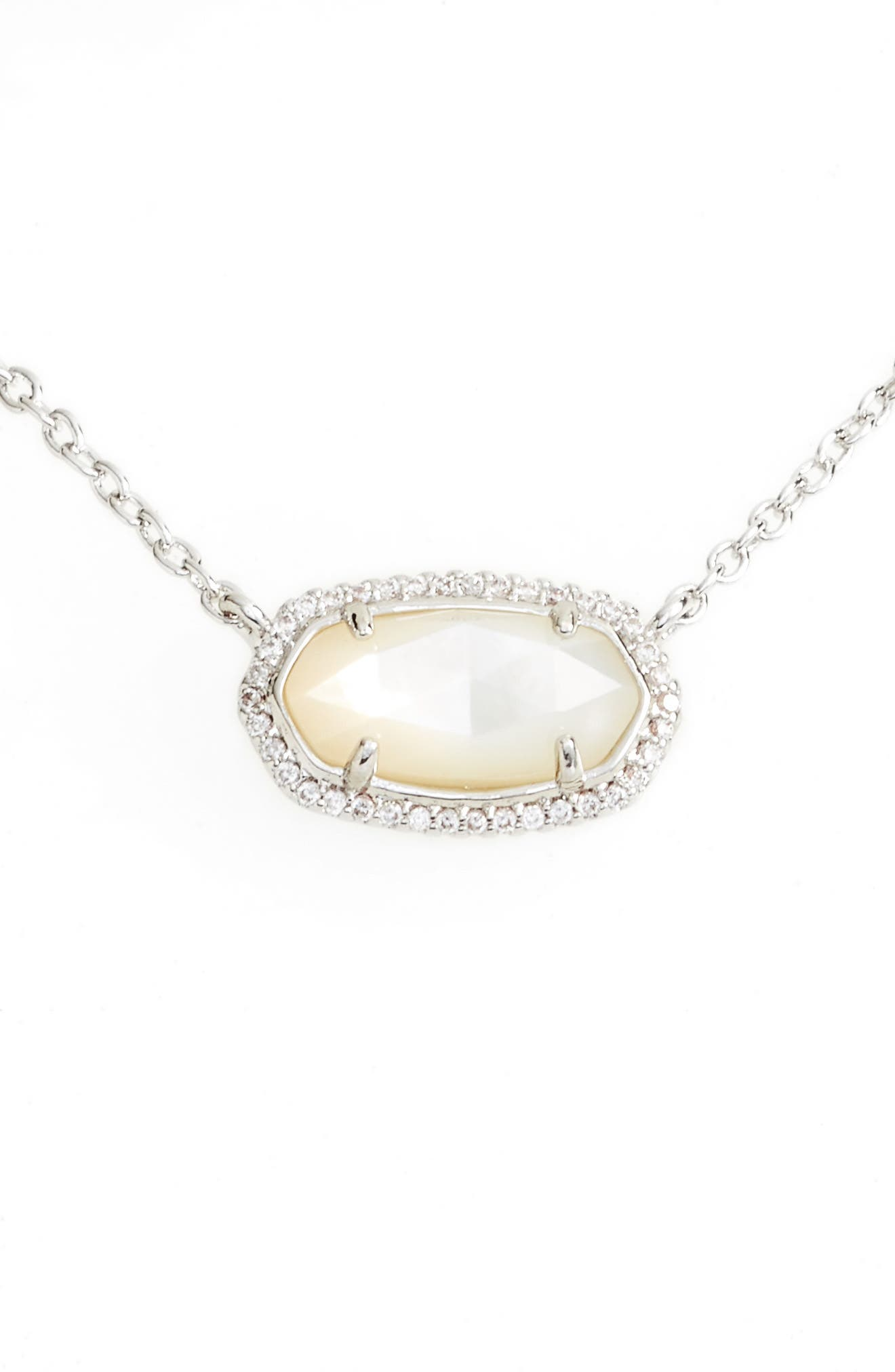 Main Image - Kendra Scott Elisa Pavé Pendant Necklace