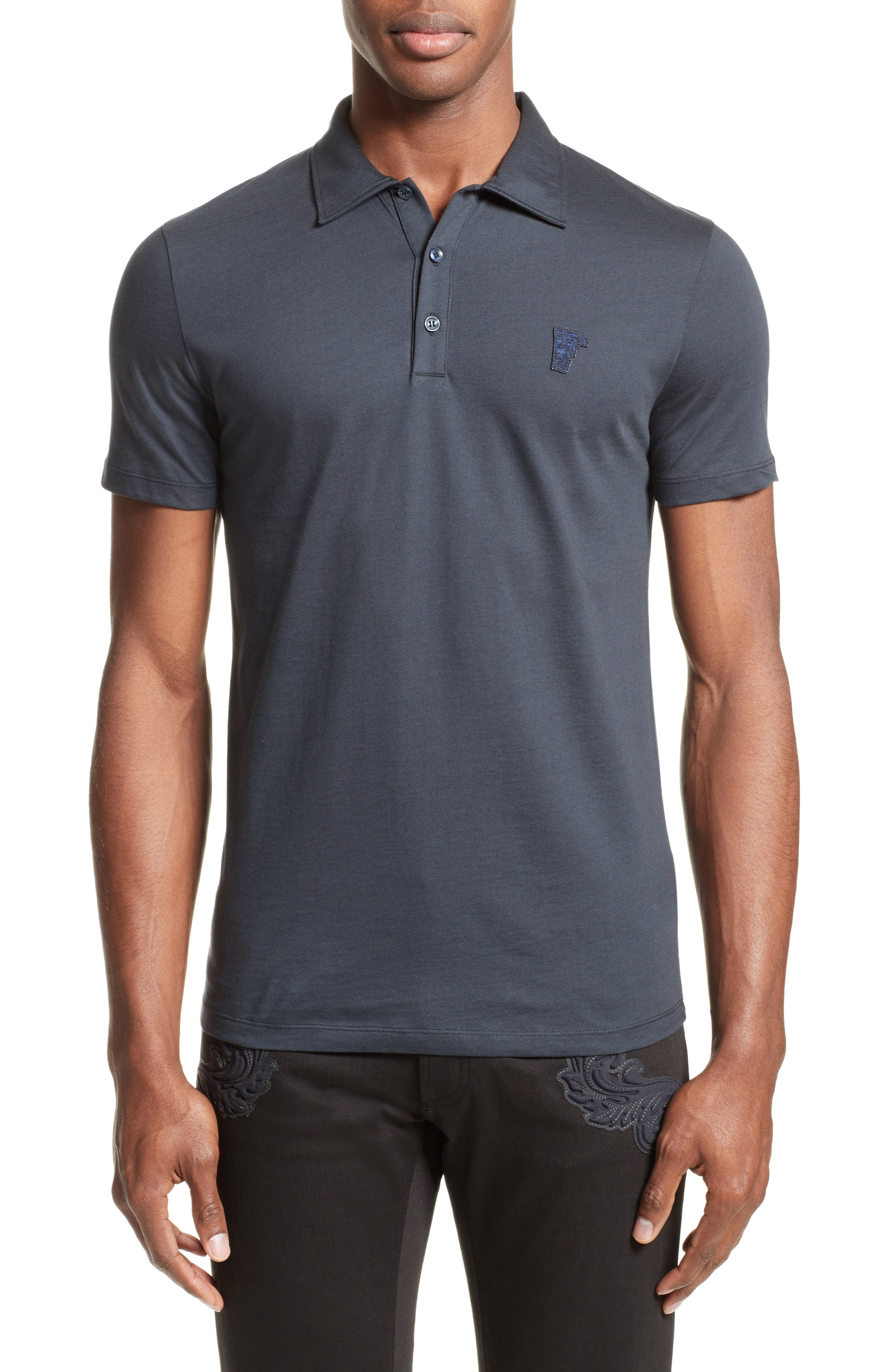Versace Collection Trim Fit Polo