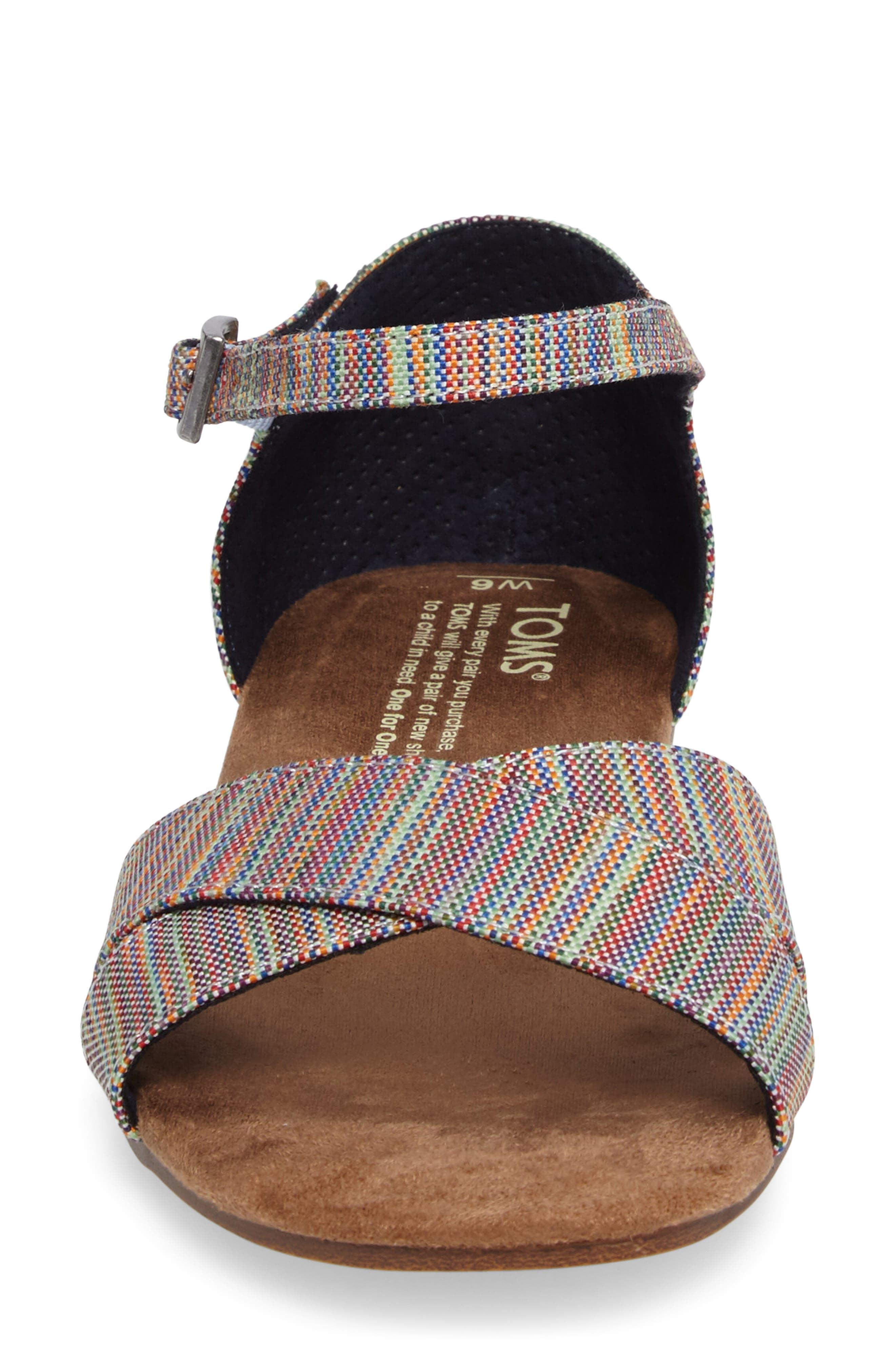 Correa Sandal,                             Alternate thumbnail 4, color,                             Blue Multi