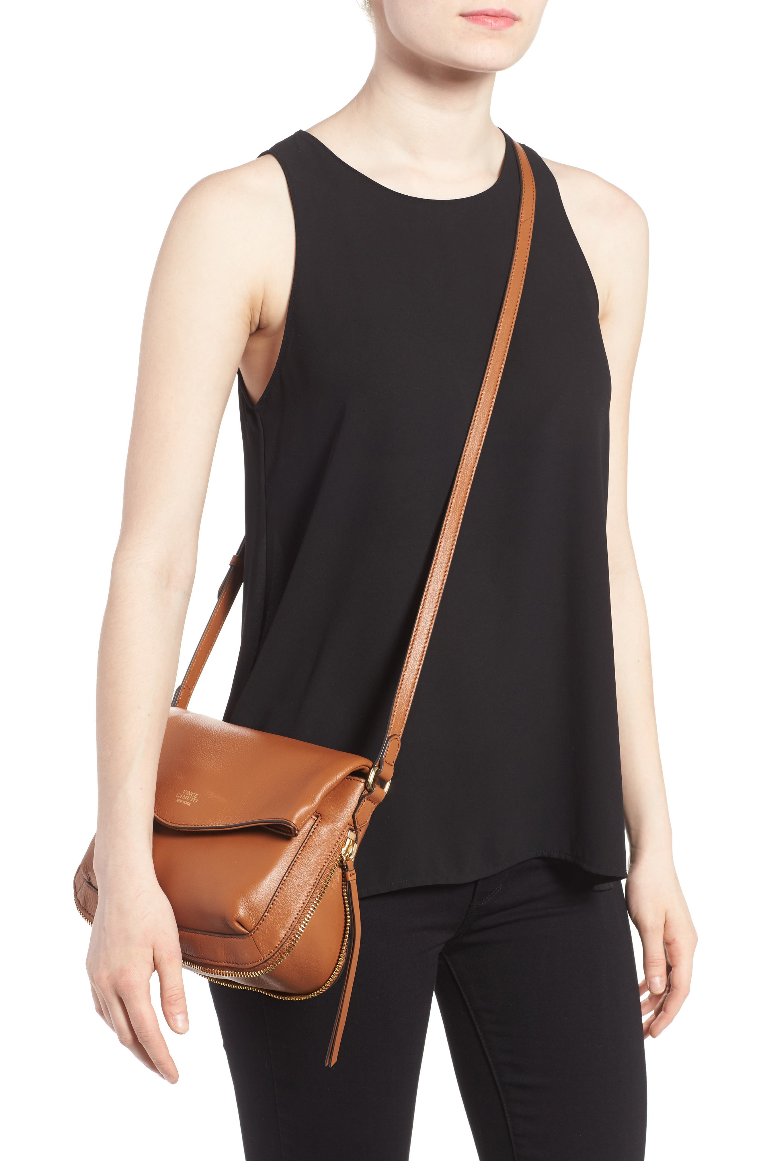 Alternate Image 2  - Vince Camuto Dafni Leather Crossbody (Nordstrom Exclusive)