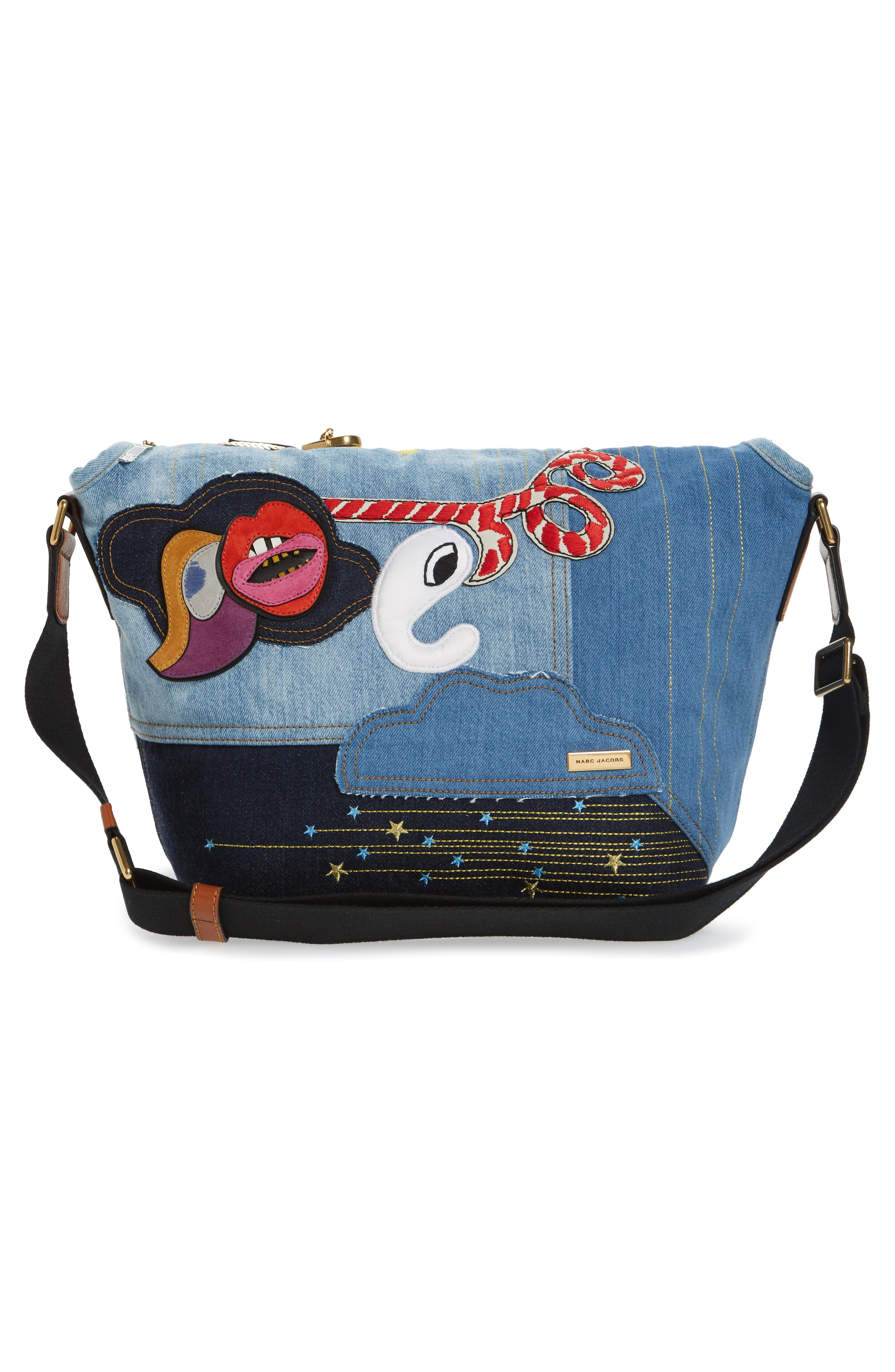 Alternate Image 2  - MARC JACOBS Denim Crossbody Bag