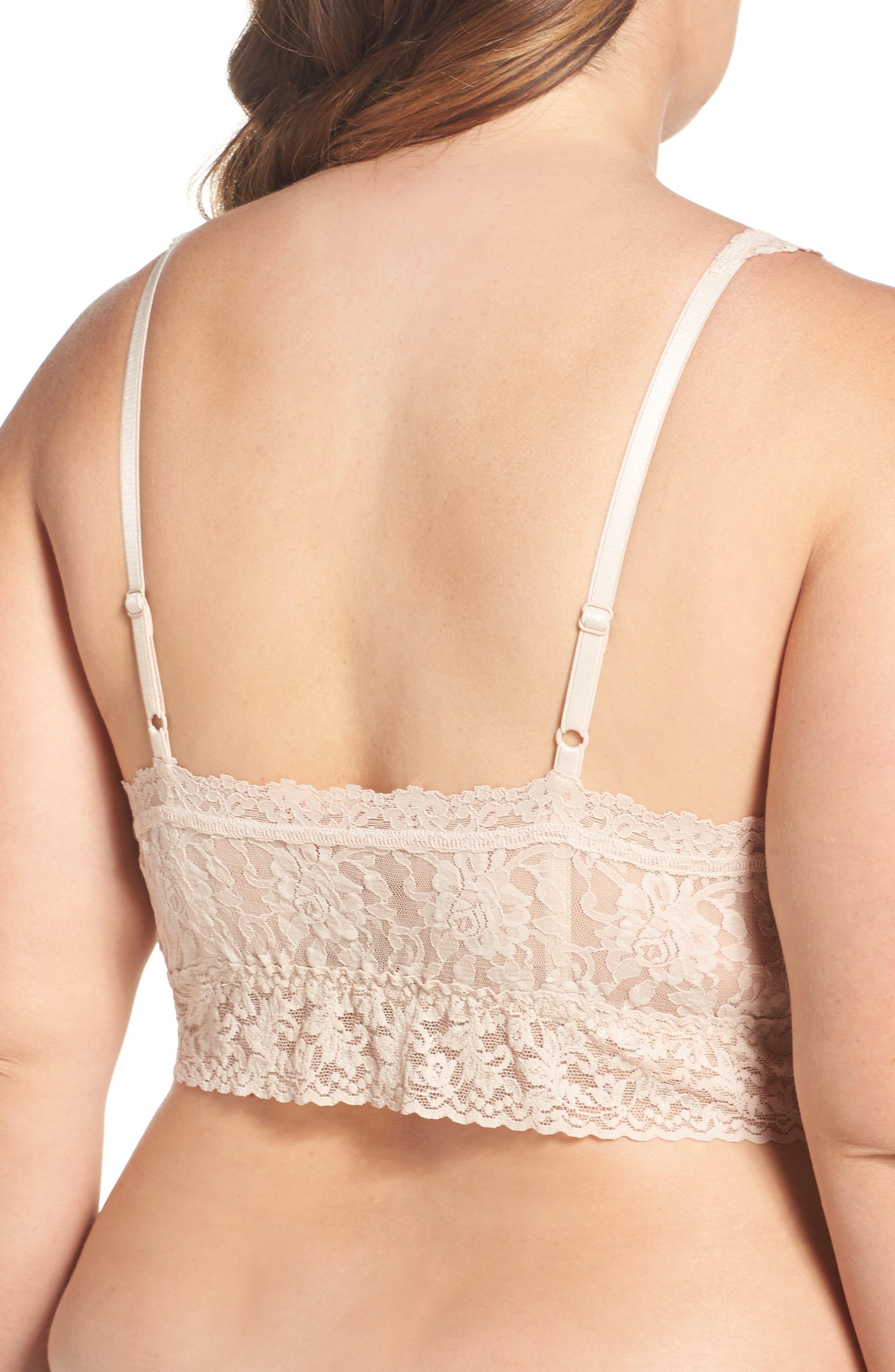 Alternate Image 2  - Hanky Panky Signature Lace Bralette (Plus Size)