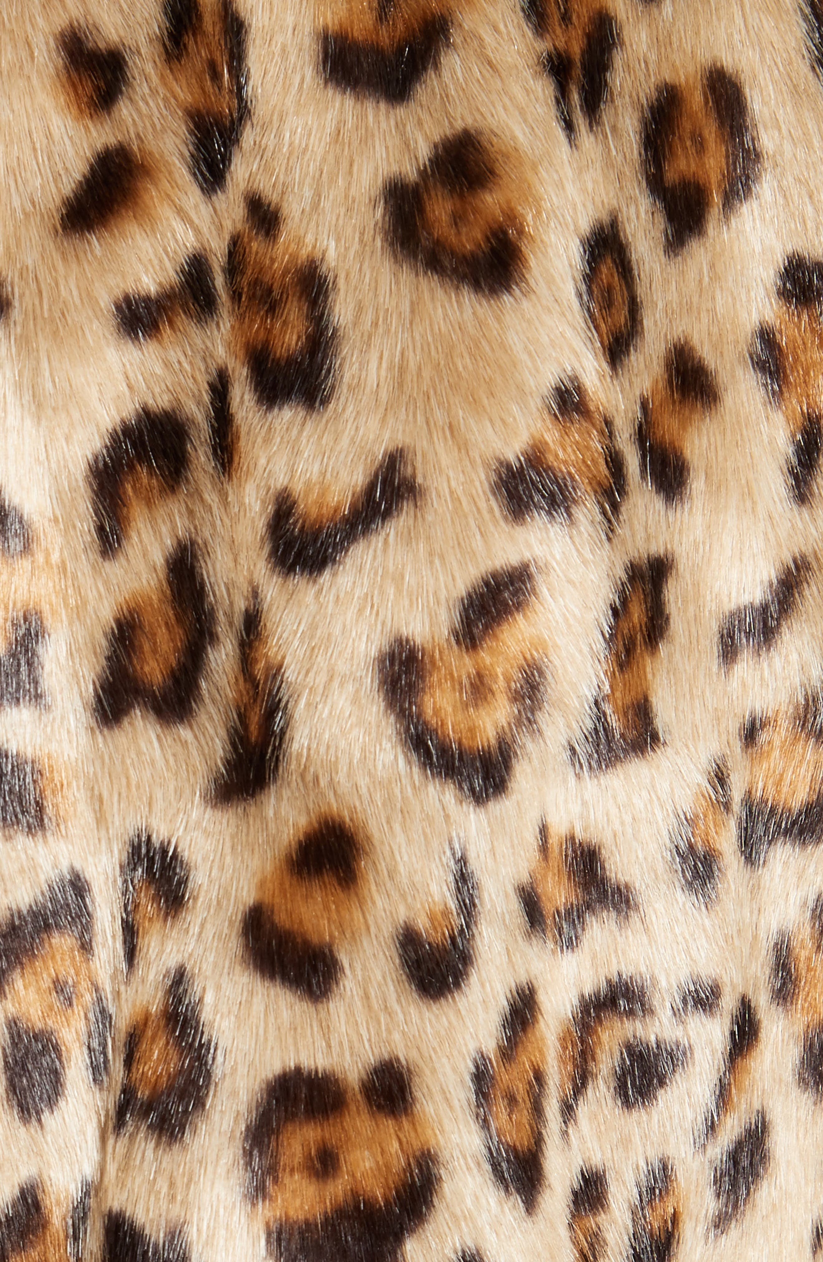 Alternate Image 5  - Theory Clairene Leopard Print Faux Fur Coat