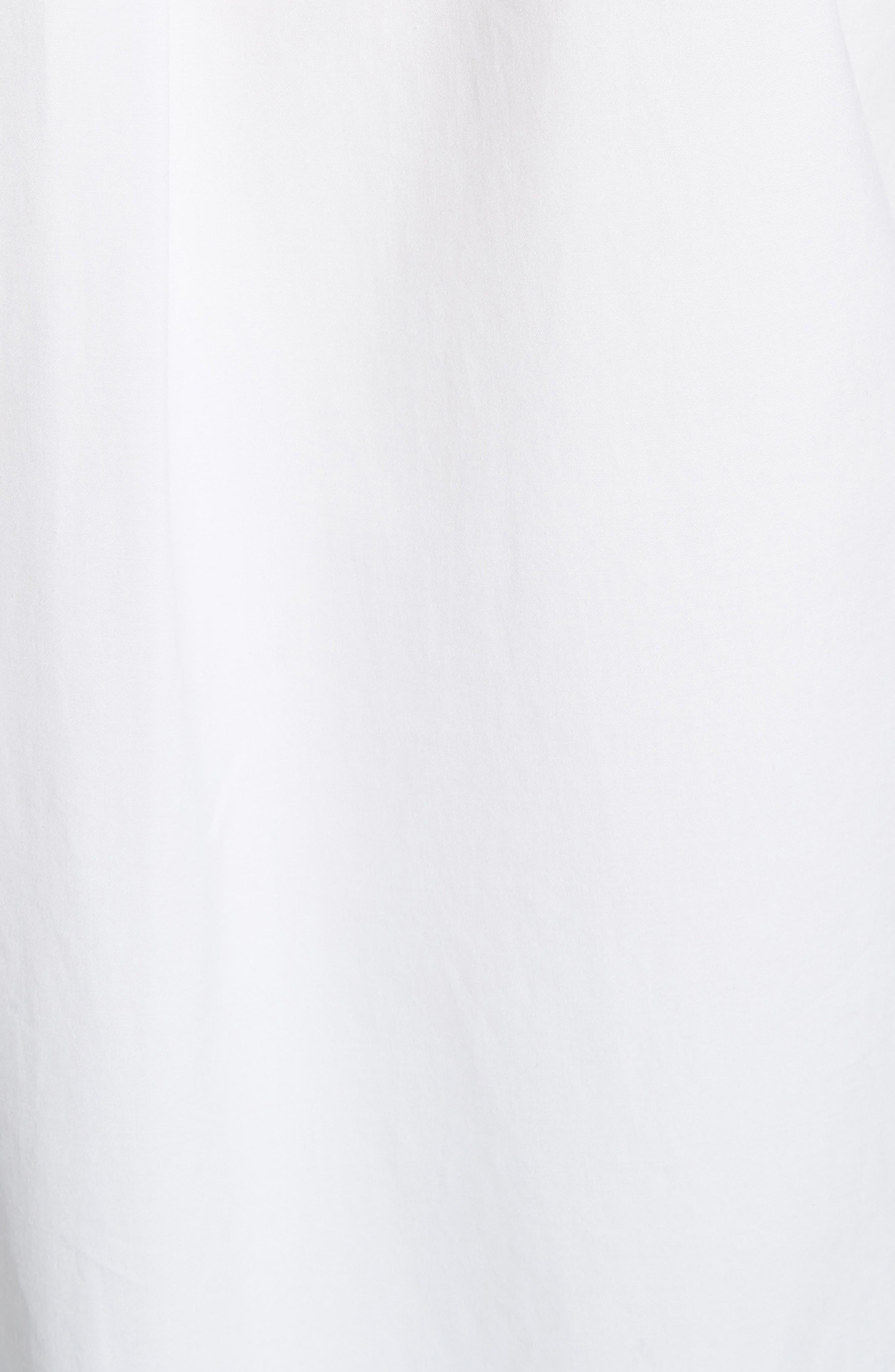 Cotton Poplin Boy Tunic,                             Alternate thumbnail 5, color,                             White