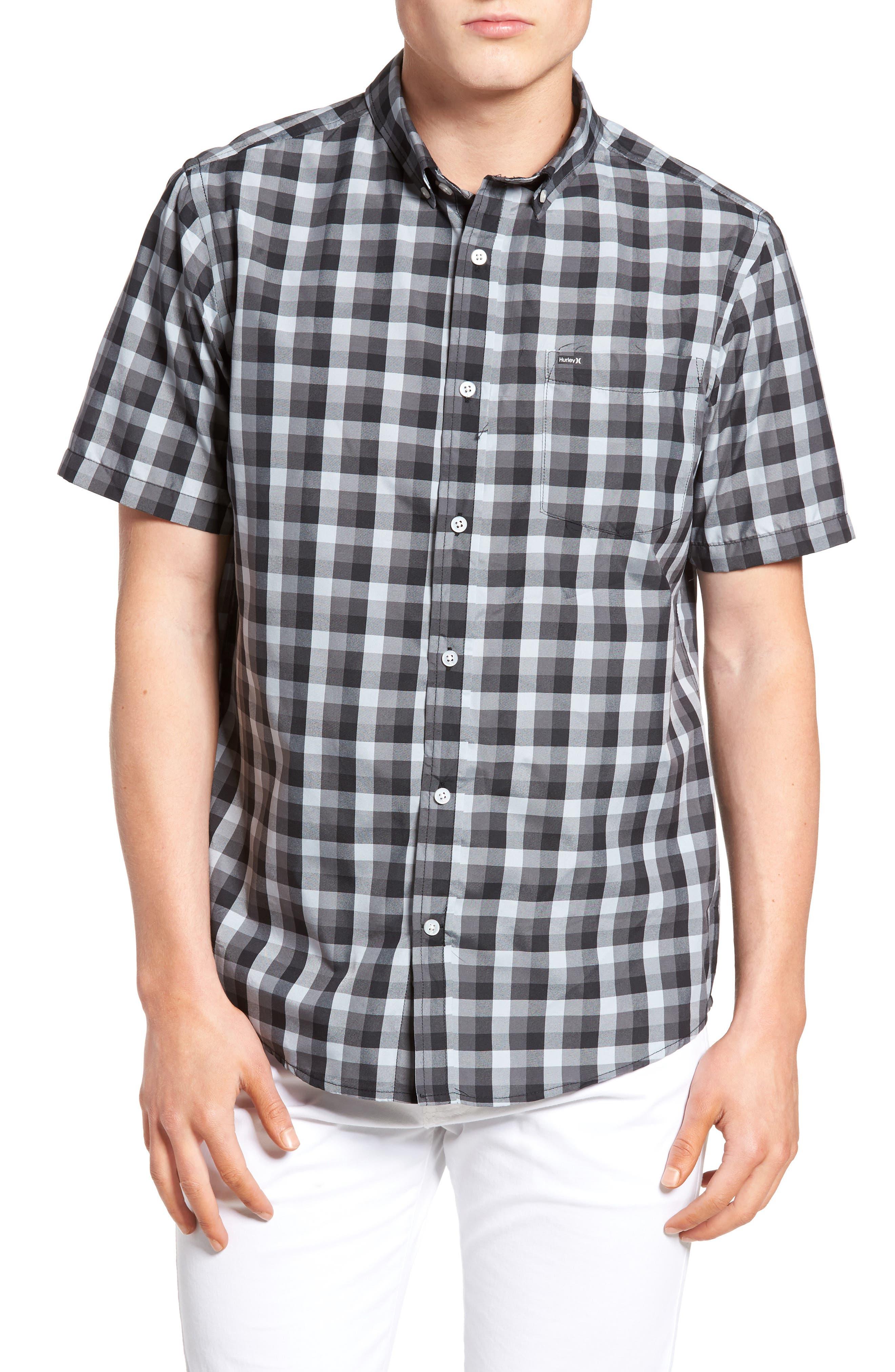 Hurley Havoc Dri-FIT Plaid Woven Shirt