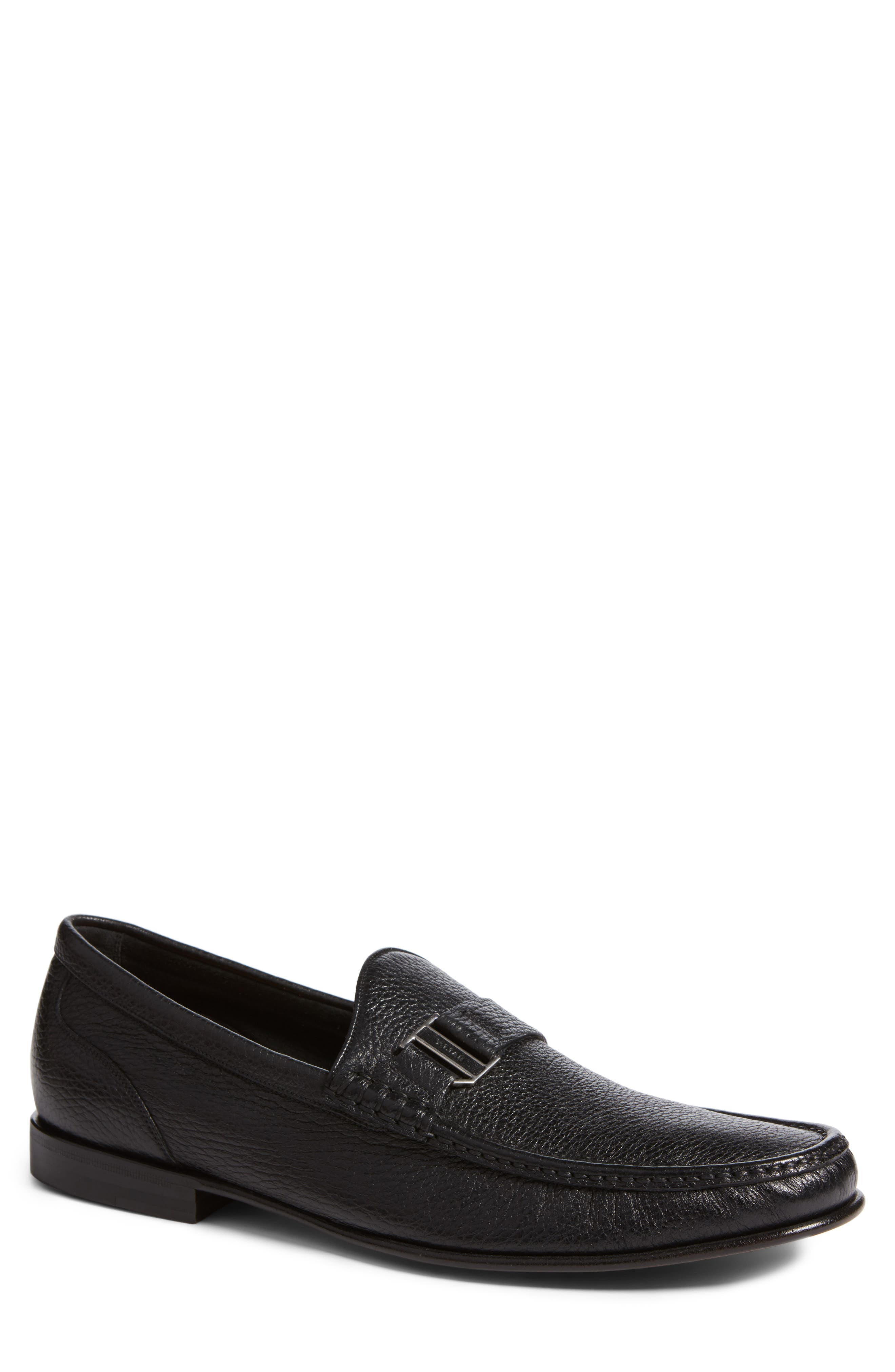 Suver Loafer,                             Main thumbnail 1, color,                             Black