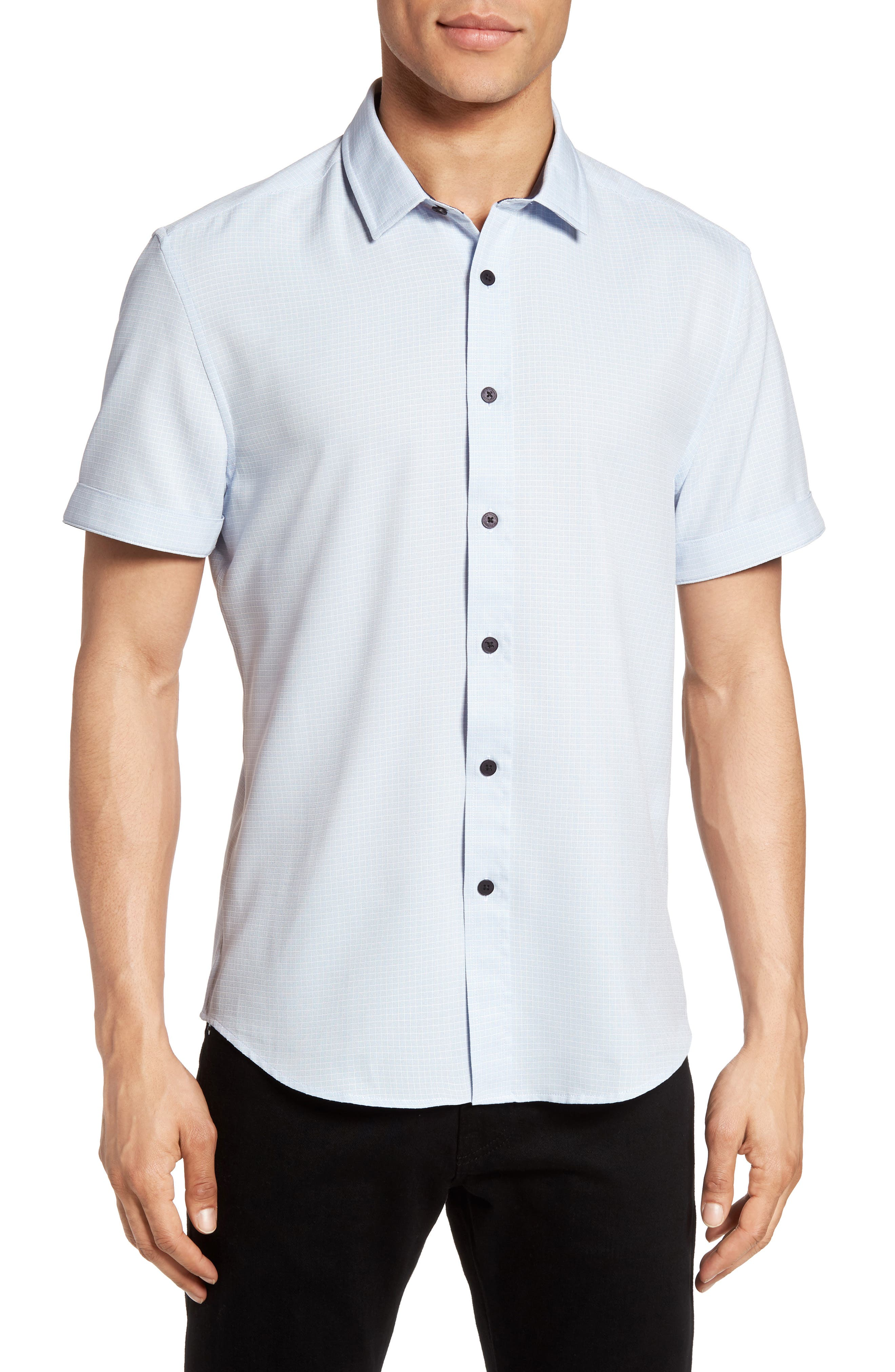 Main Image - Vince Camuto Check Sport Shirt