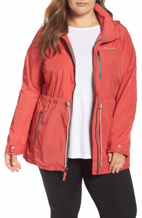 Columbia Suburbanizer Water Resistant Front Zip Hooded Jacket (Plus Size)
