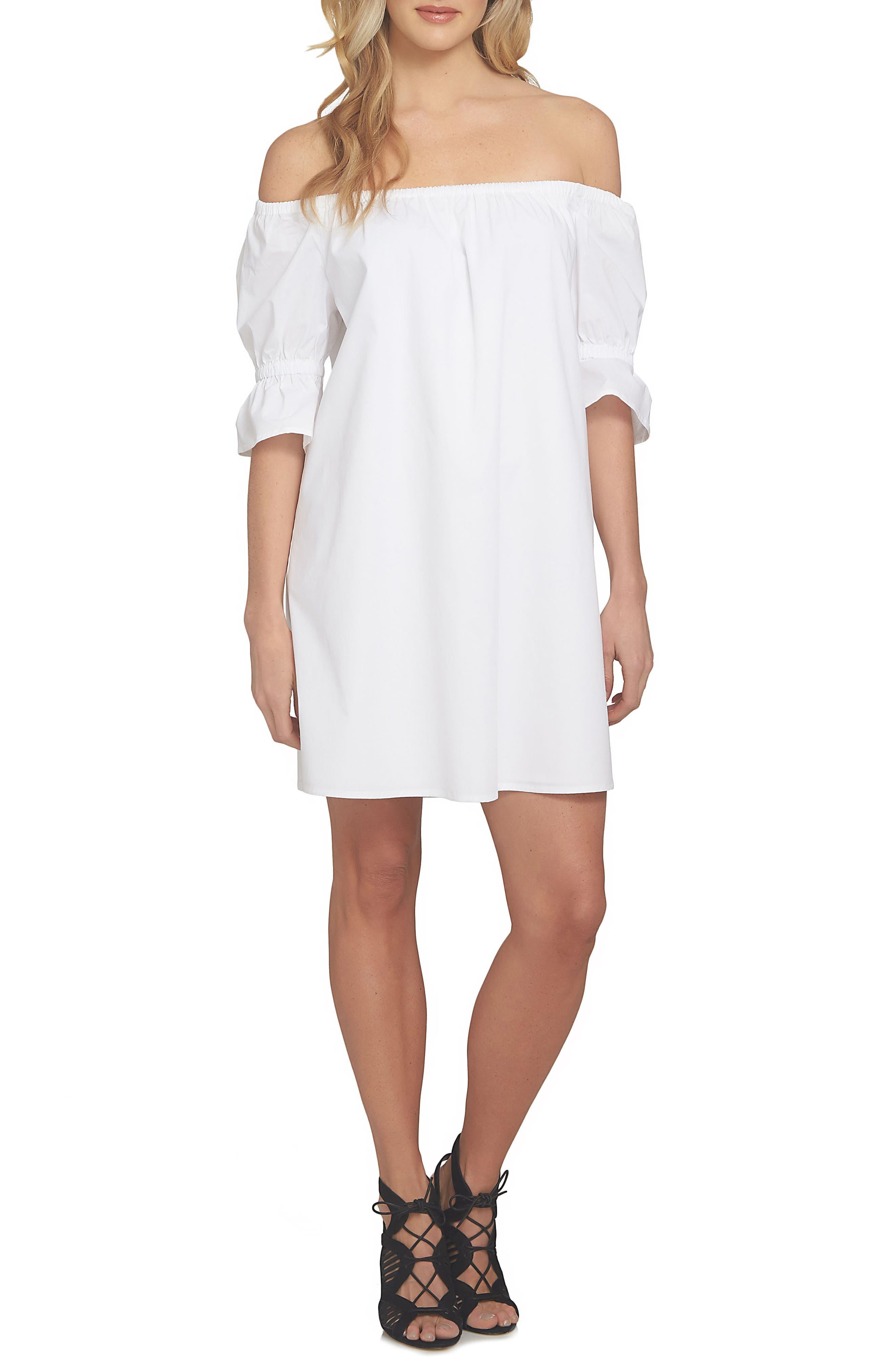 Alternate Image 1 Selected - 1.STATE Off the Shoulder Shift Dress