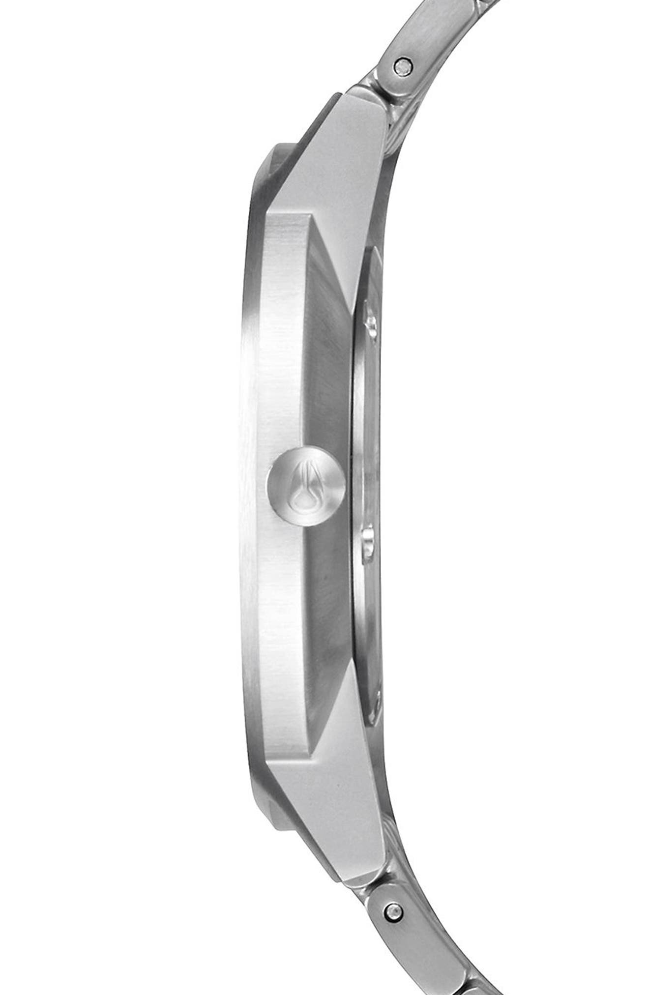 Porter Bracelet Watch, 40mm,                             Alternate thumbnail 3, color,                             Silver