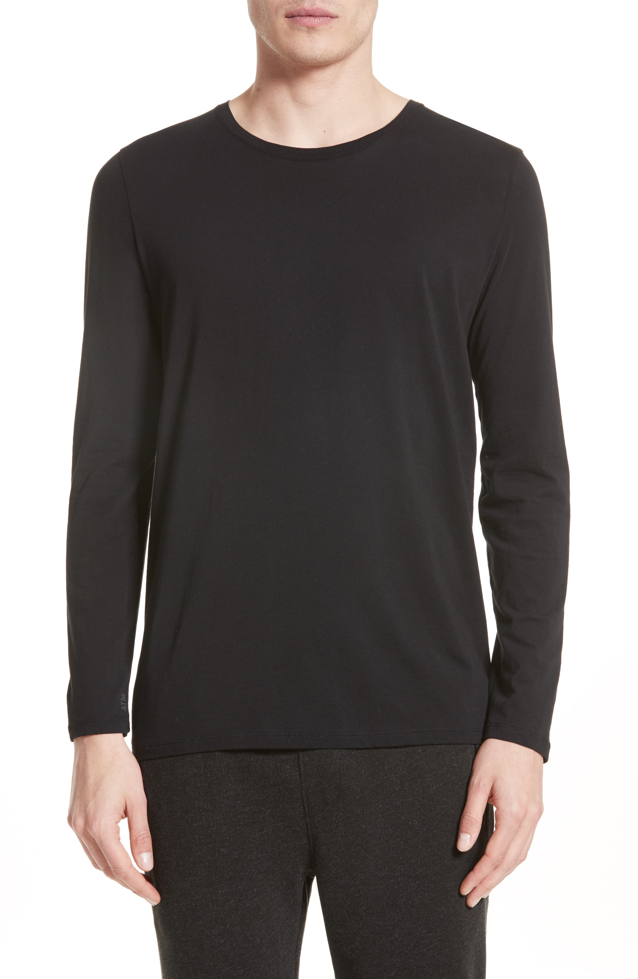 Main Image - ATM Anthony Thomas Melillo Cotton Crewneck