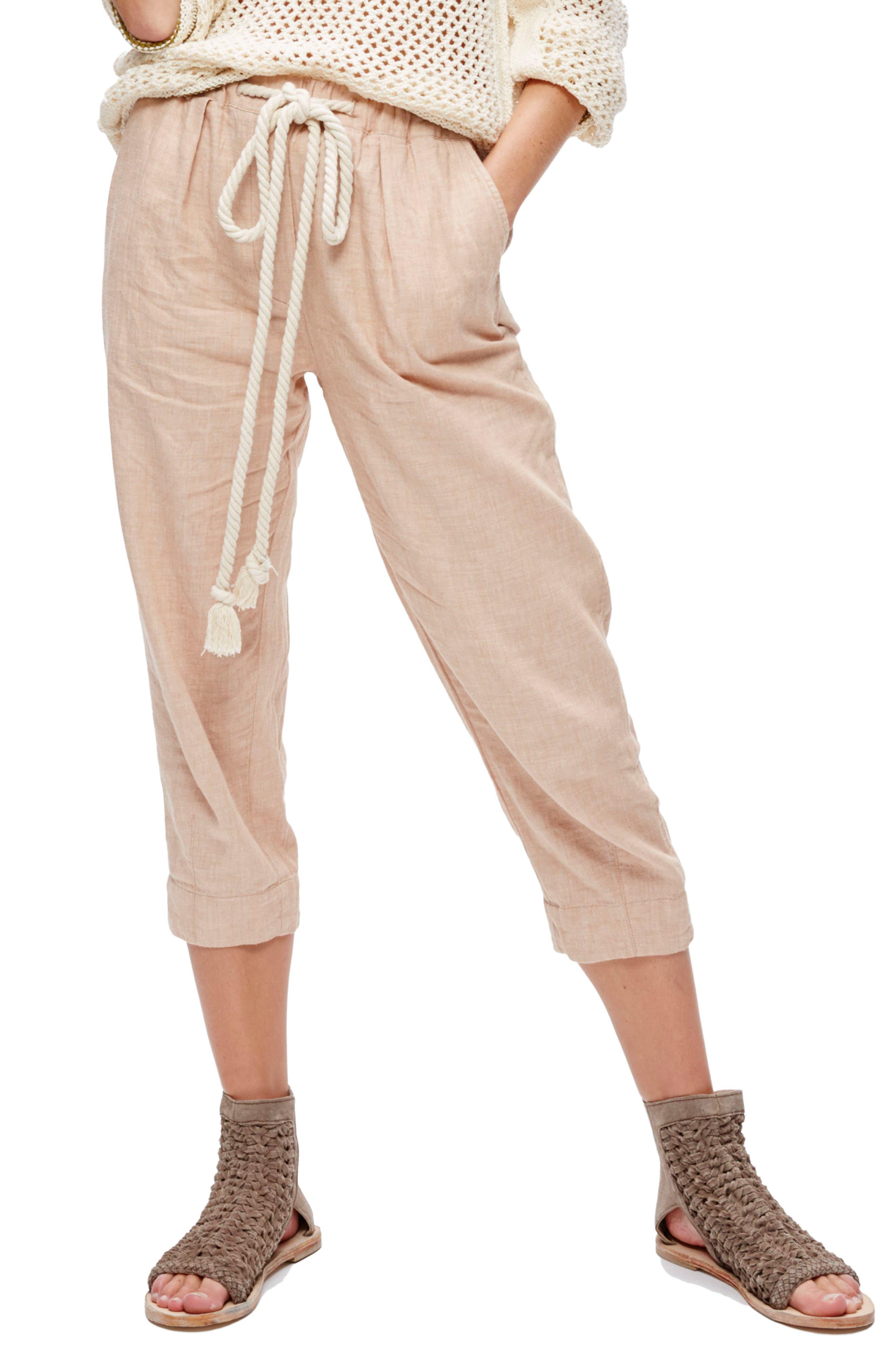 Main Image - Free People Everyday Drawstring Pants