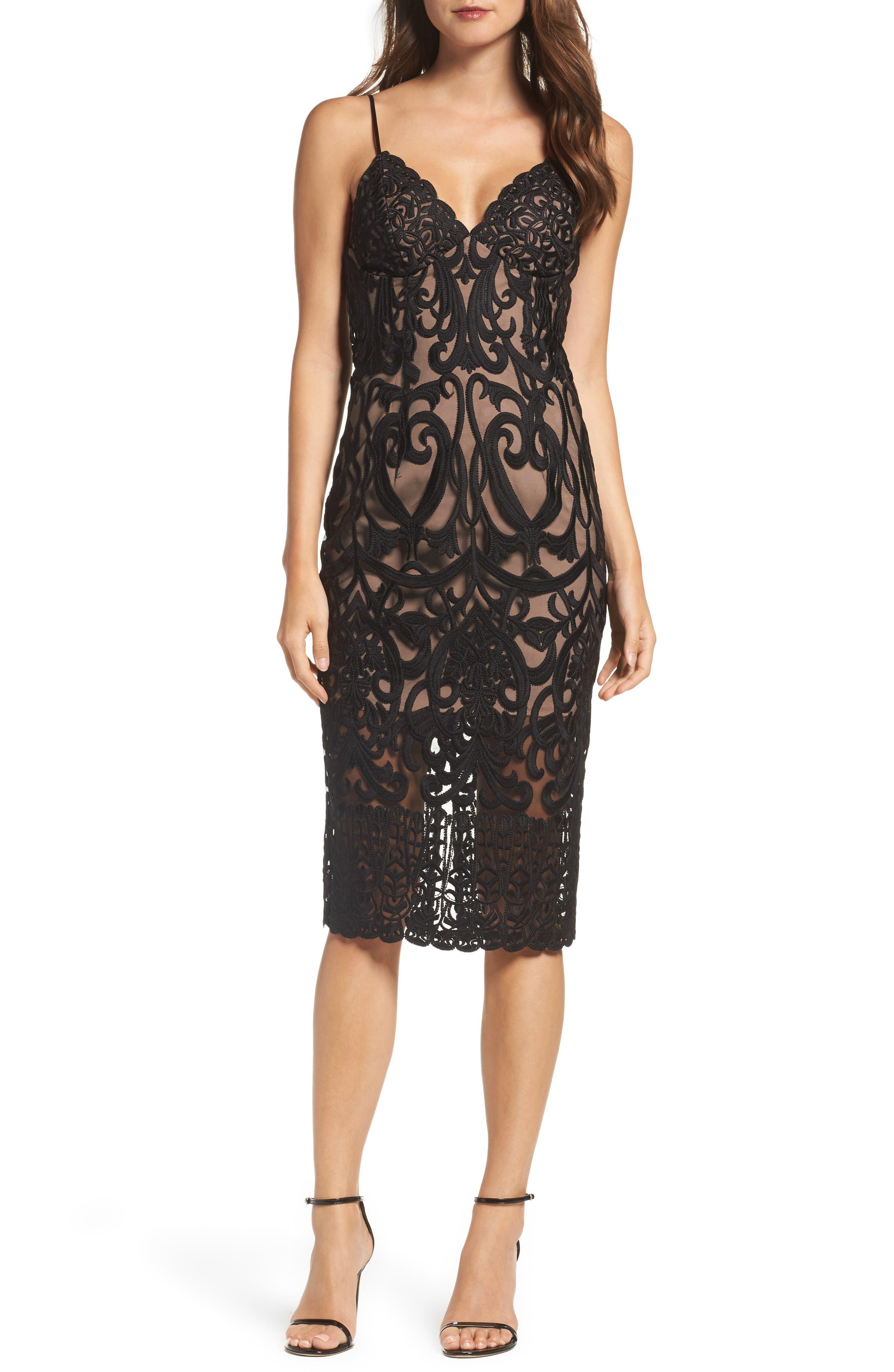 Alternate Image 1 Selected - Bardot Gia Lace Pencil Dress