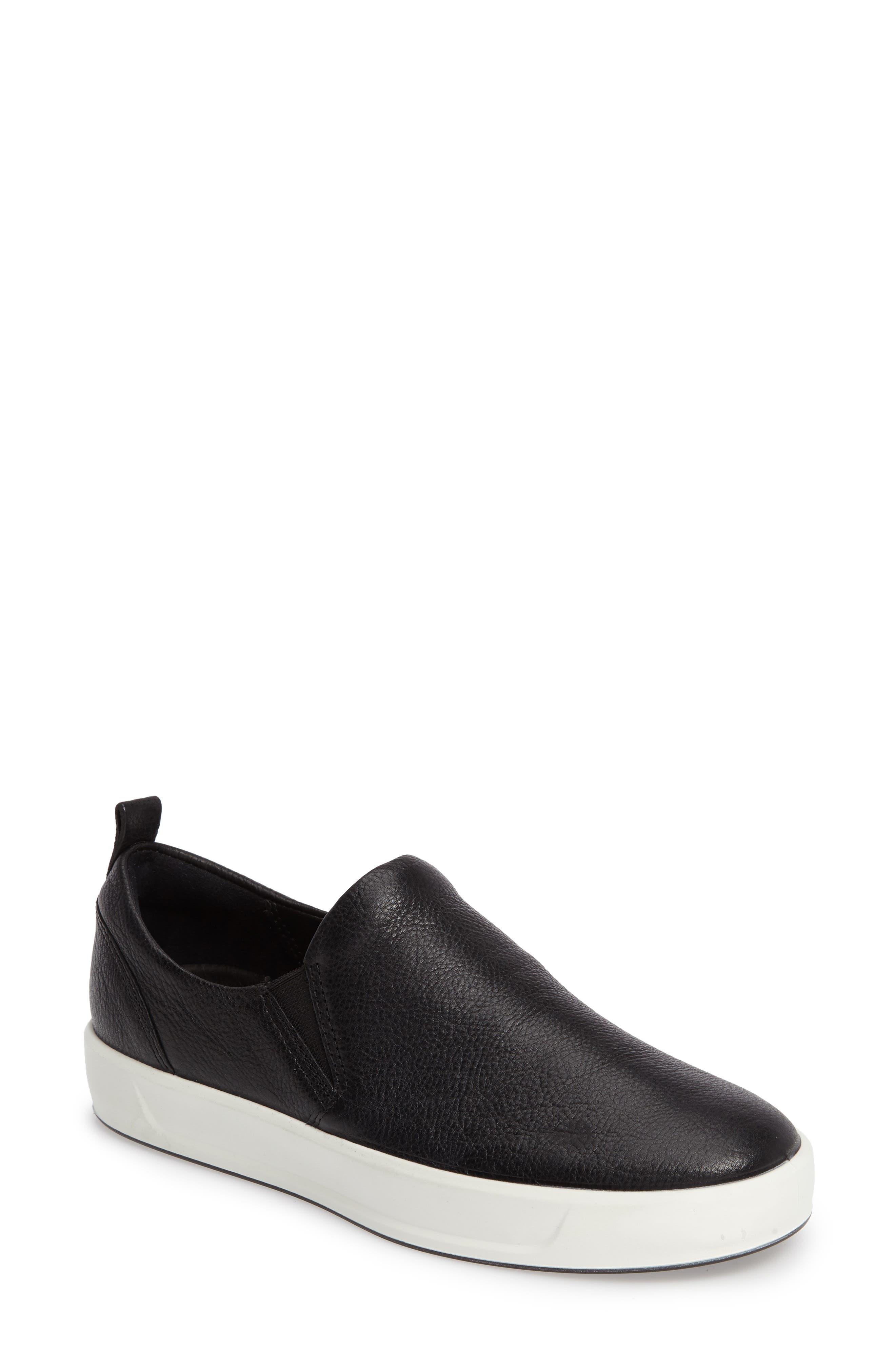 Alternate Image 1 Selected - ECCO Soft 8 Slip-On Sneaker (Women)