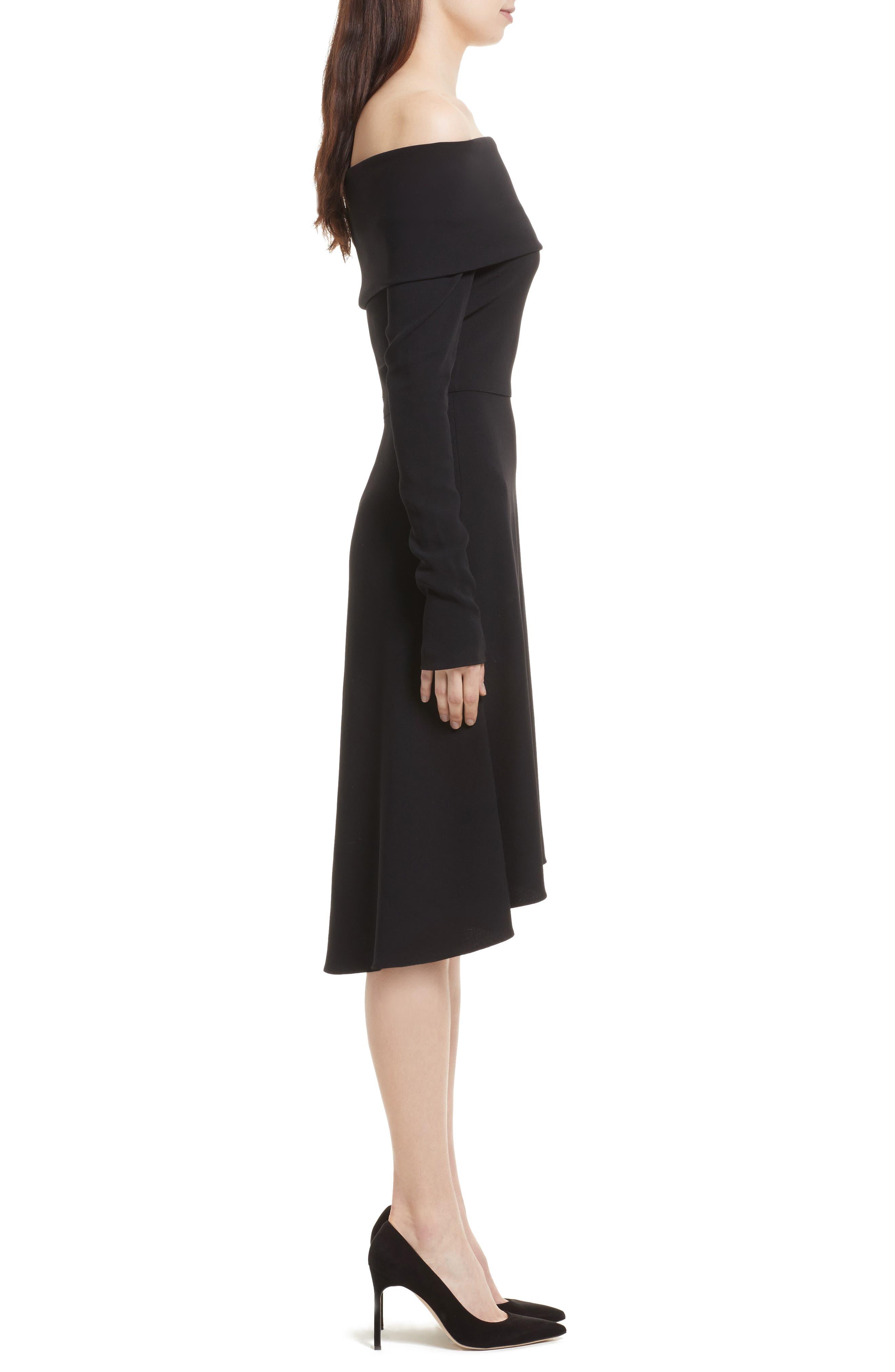 Alternate Image 3  - Theory Kensington Off the Shoulder Foldover Dress