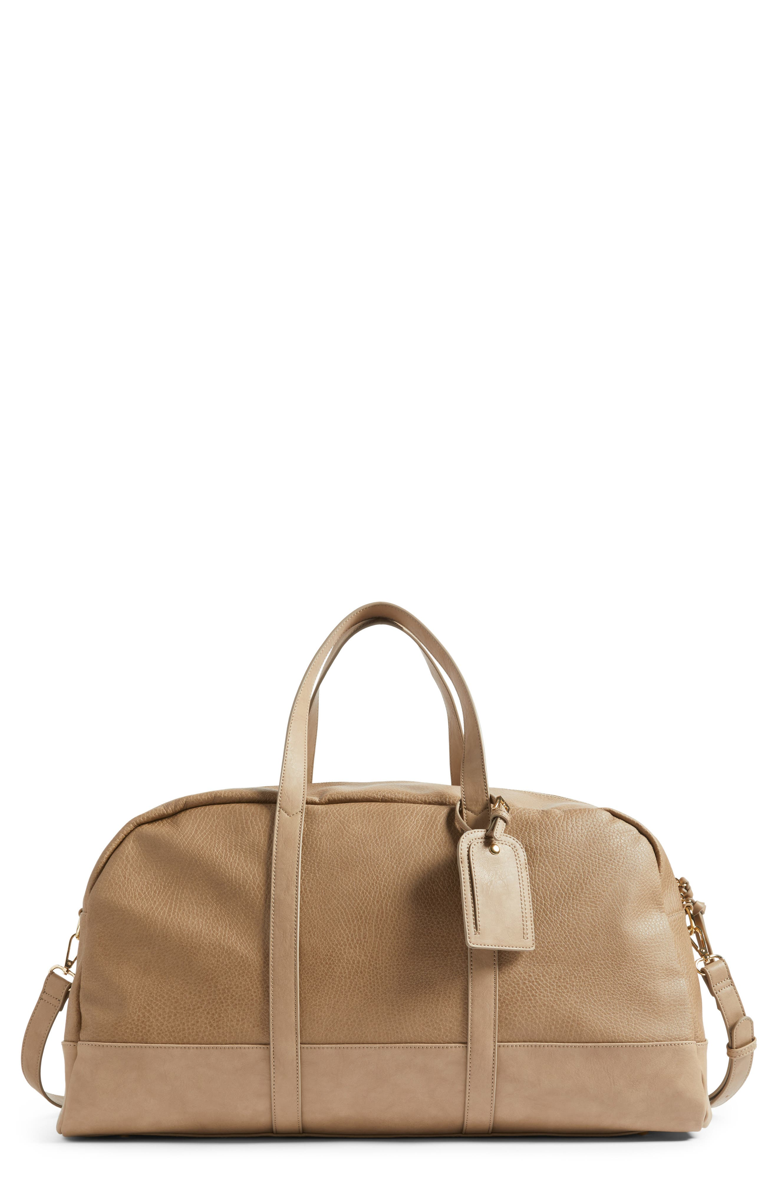 Sole Society Marant Faux Leather Duffle Bag