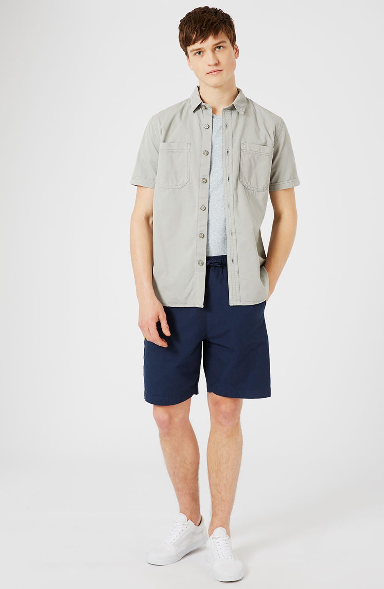 Alternate Image 2  - Topman Oversize Shorts