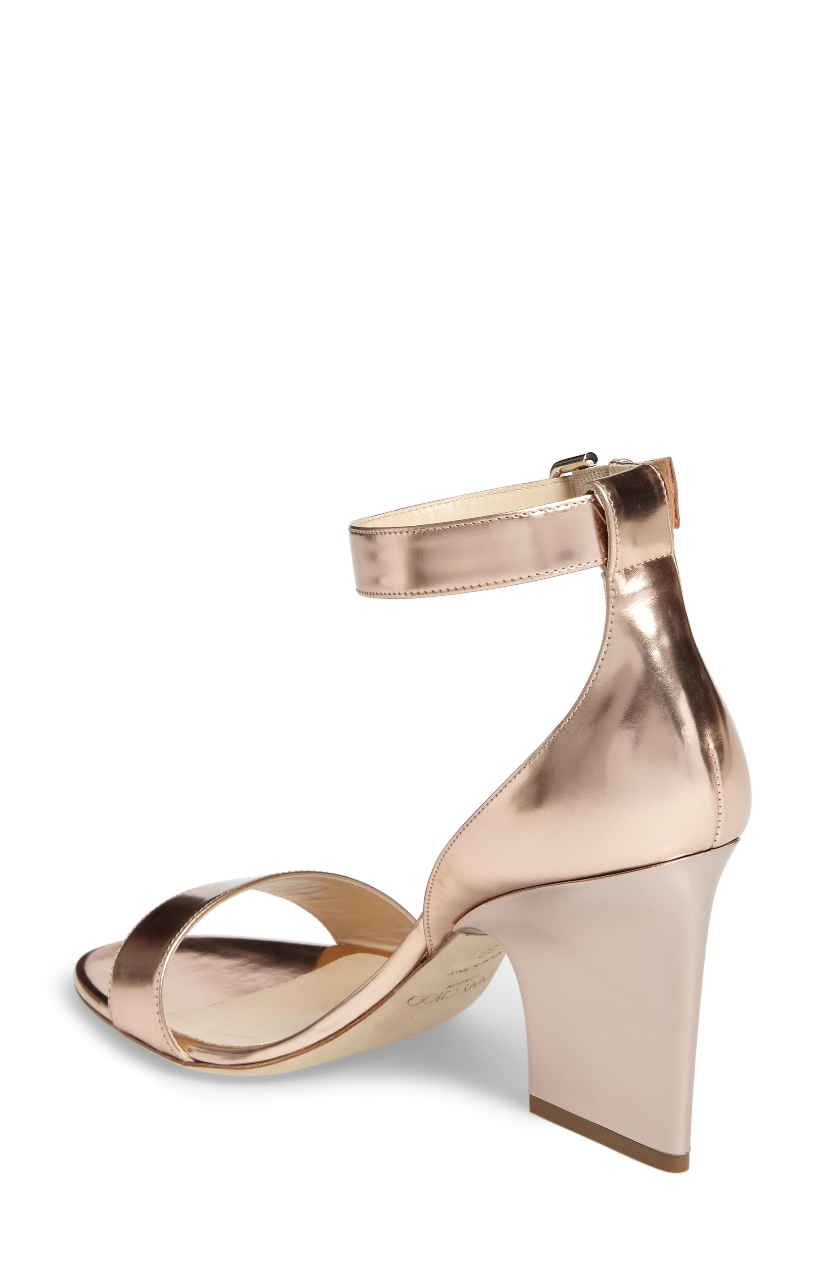 Alternate Image 2  - Jimmy Choo Edina Ankle Strap Sandal (Women)
