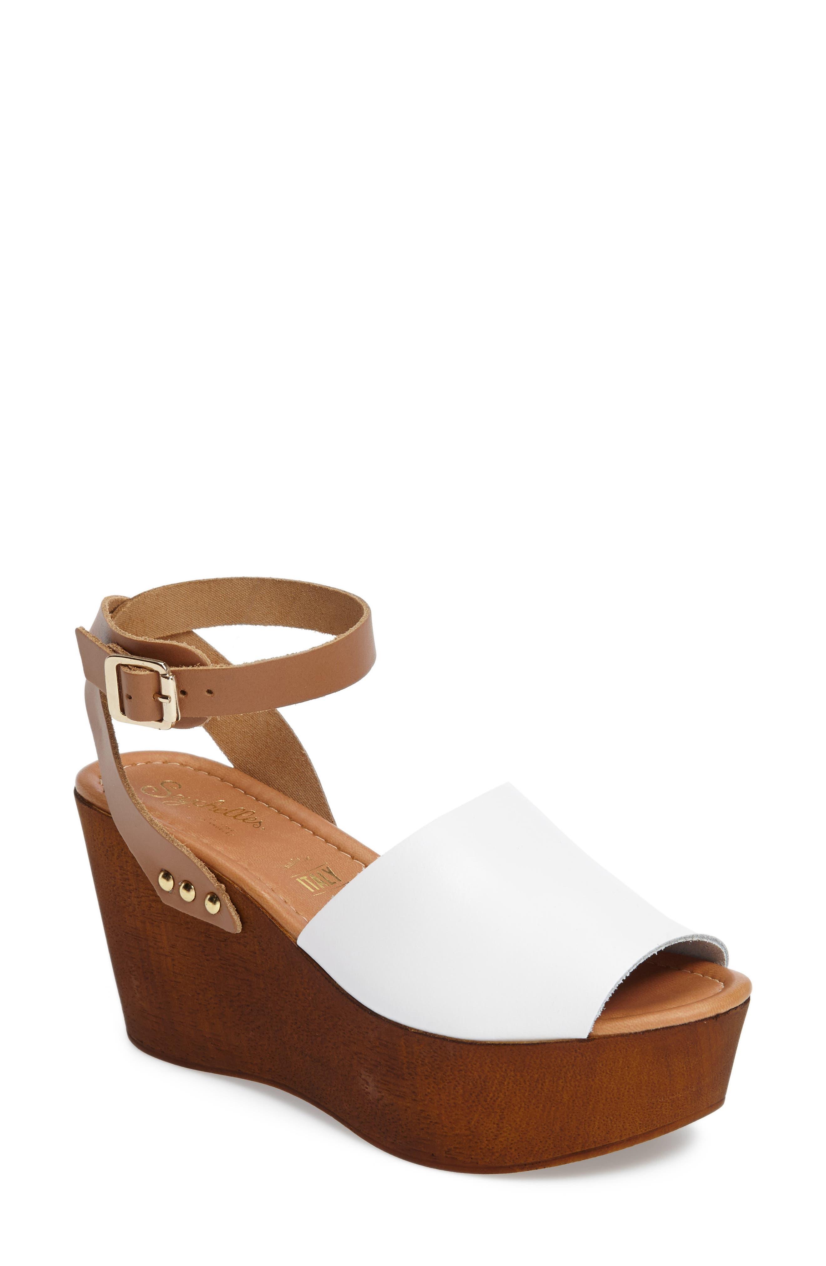 Alternate Image 1 Selected - Seychelles Platform Wedge Sandal (Women)