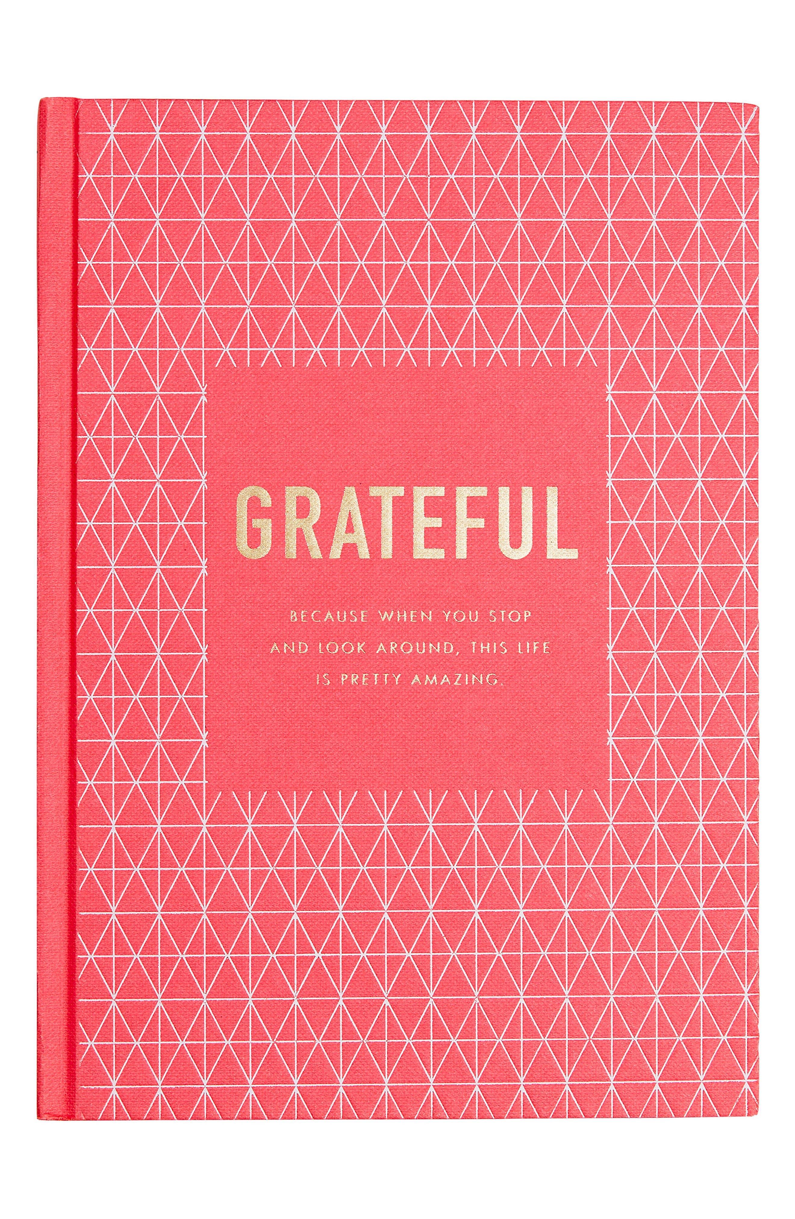 Gratitiude Journal,                         Main,                         color, Pink