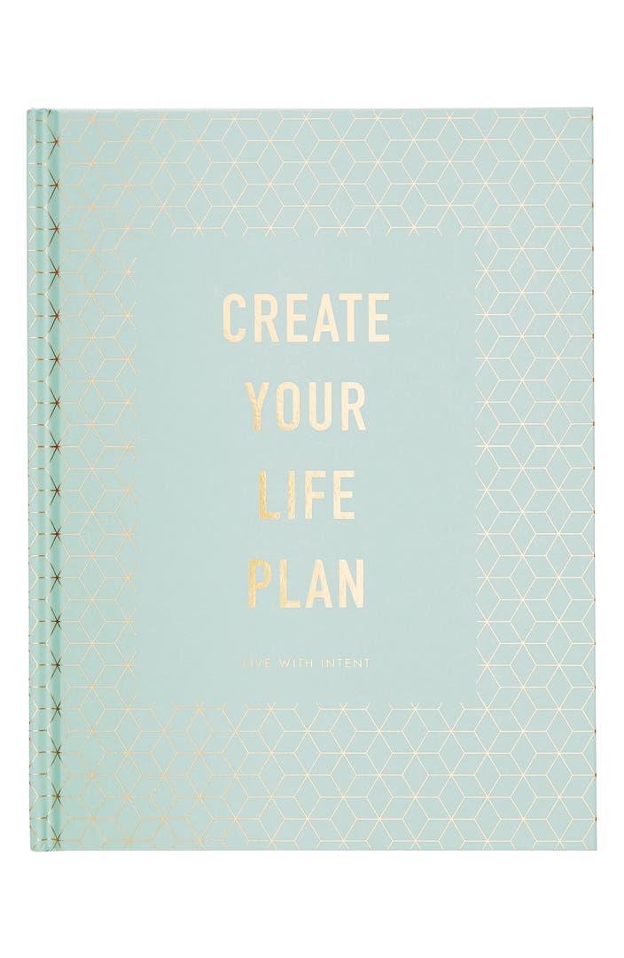 Main Image - kikki.K Create Your Life Plan Book