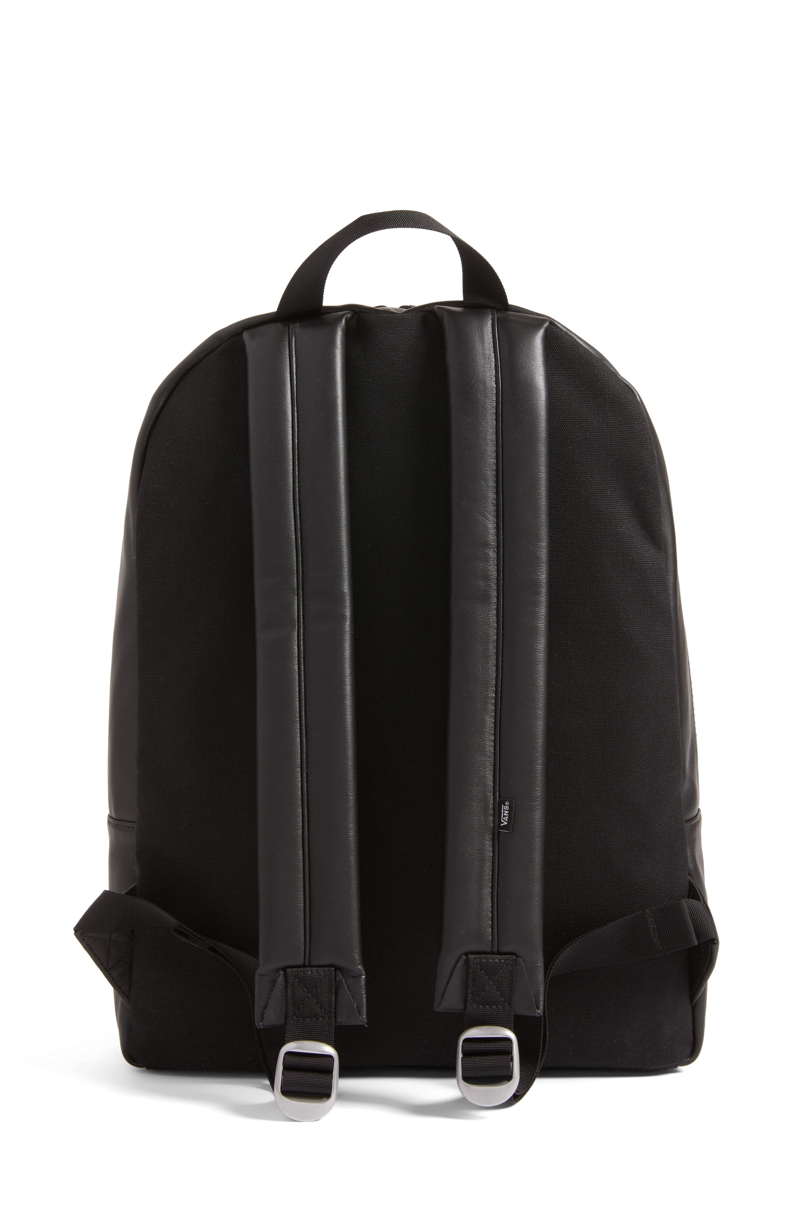 Alternate Image 3  - Vans x KARL LAGERFELD Quilted Leather Backpack