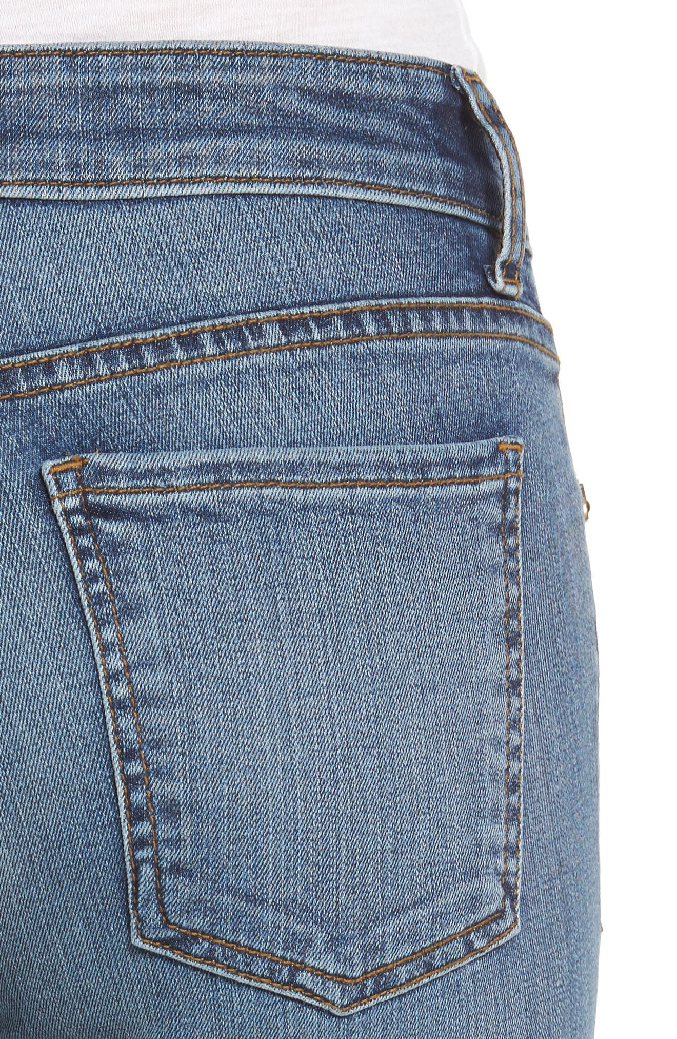 Alternate Image 4  - KUT from the Kloth Donna Skinny Jeans (Commutual)