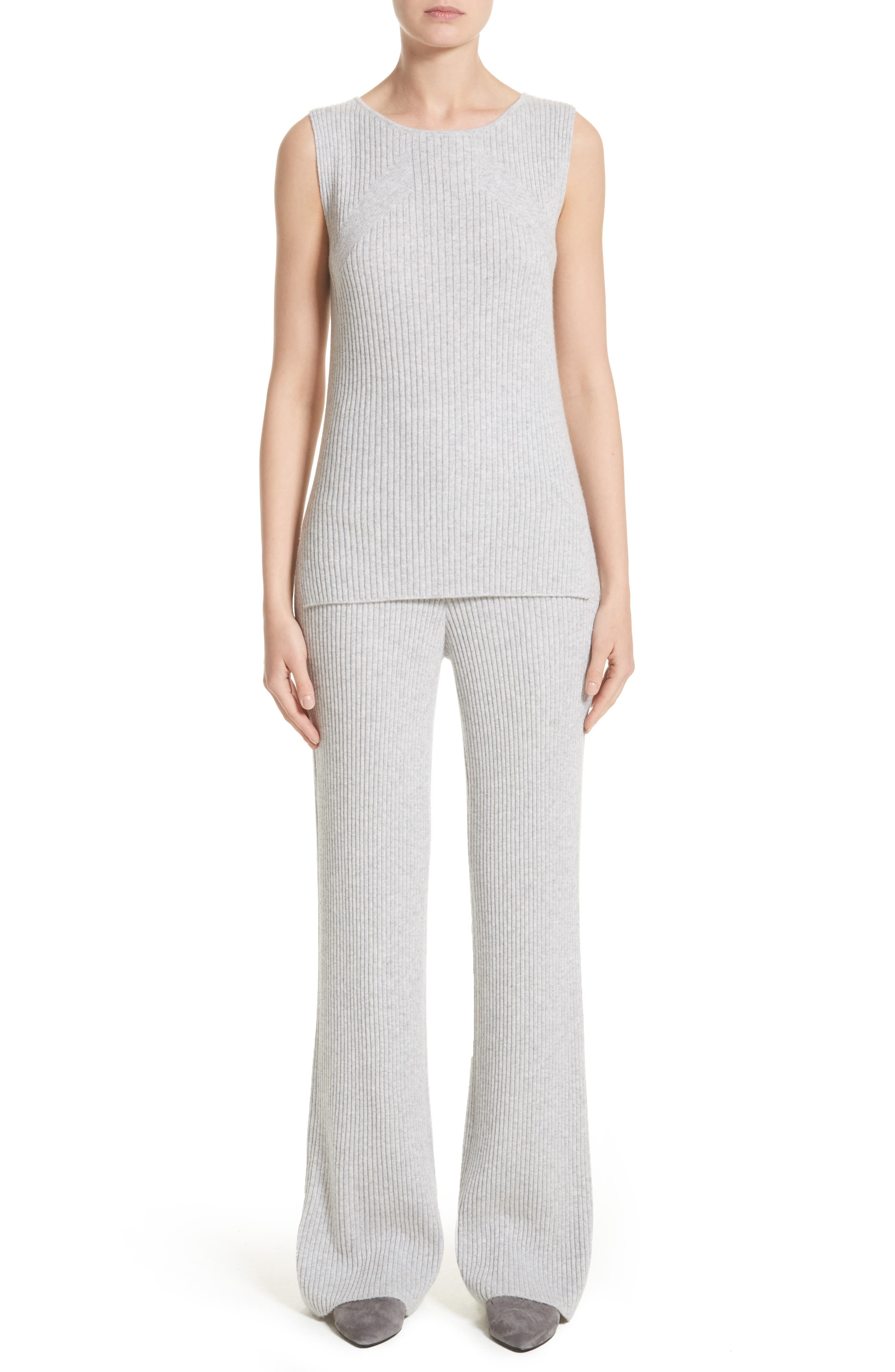 Alternate Image 8  - St. John Collection Cashmere Knit Pants