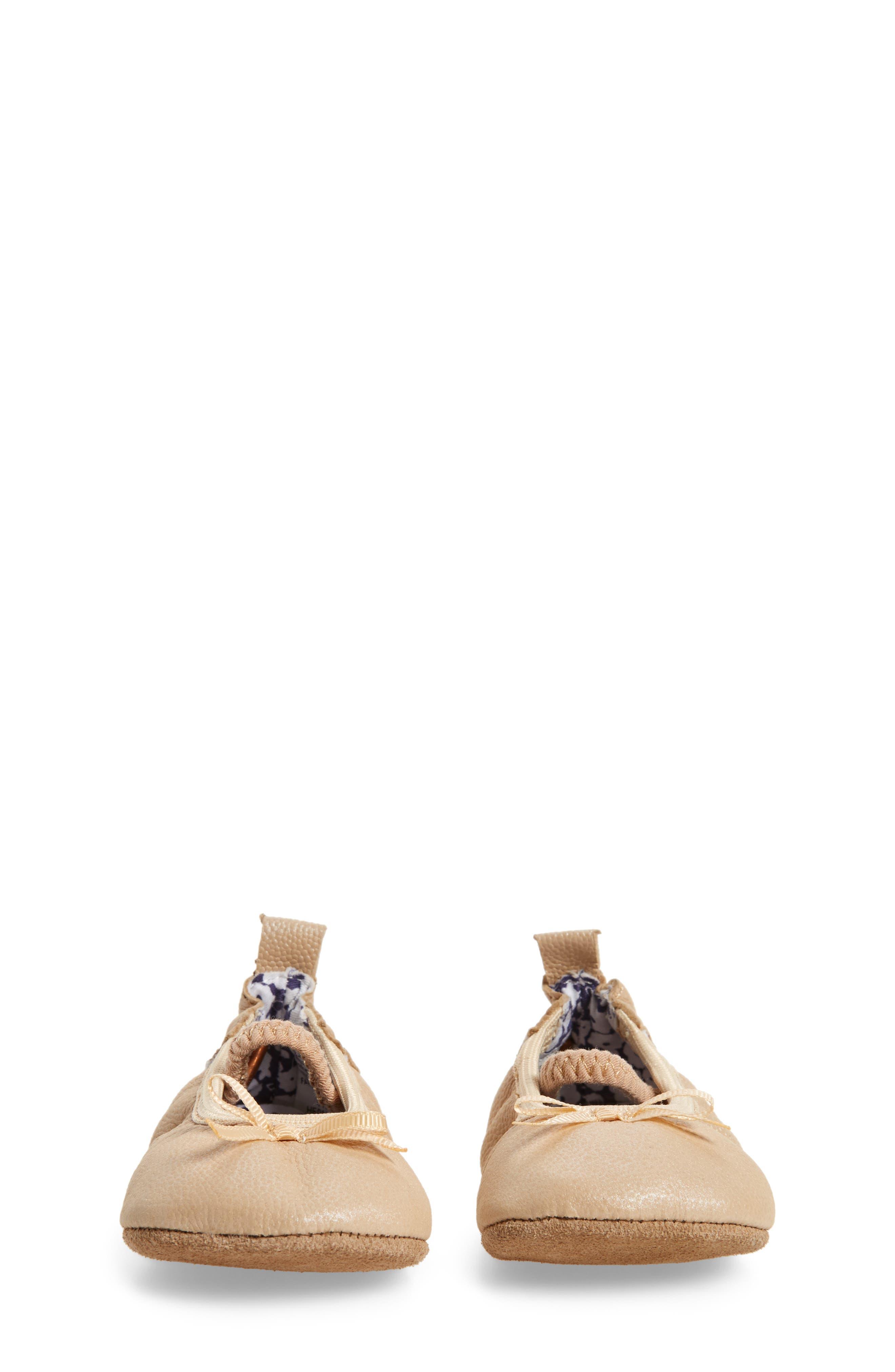 Alternate Image 4  - Robeez® Rachel Ballet Flat (Baby & Walker)