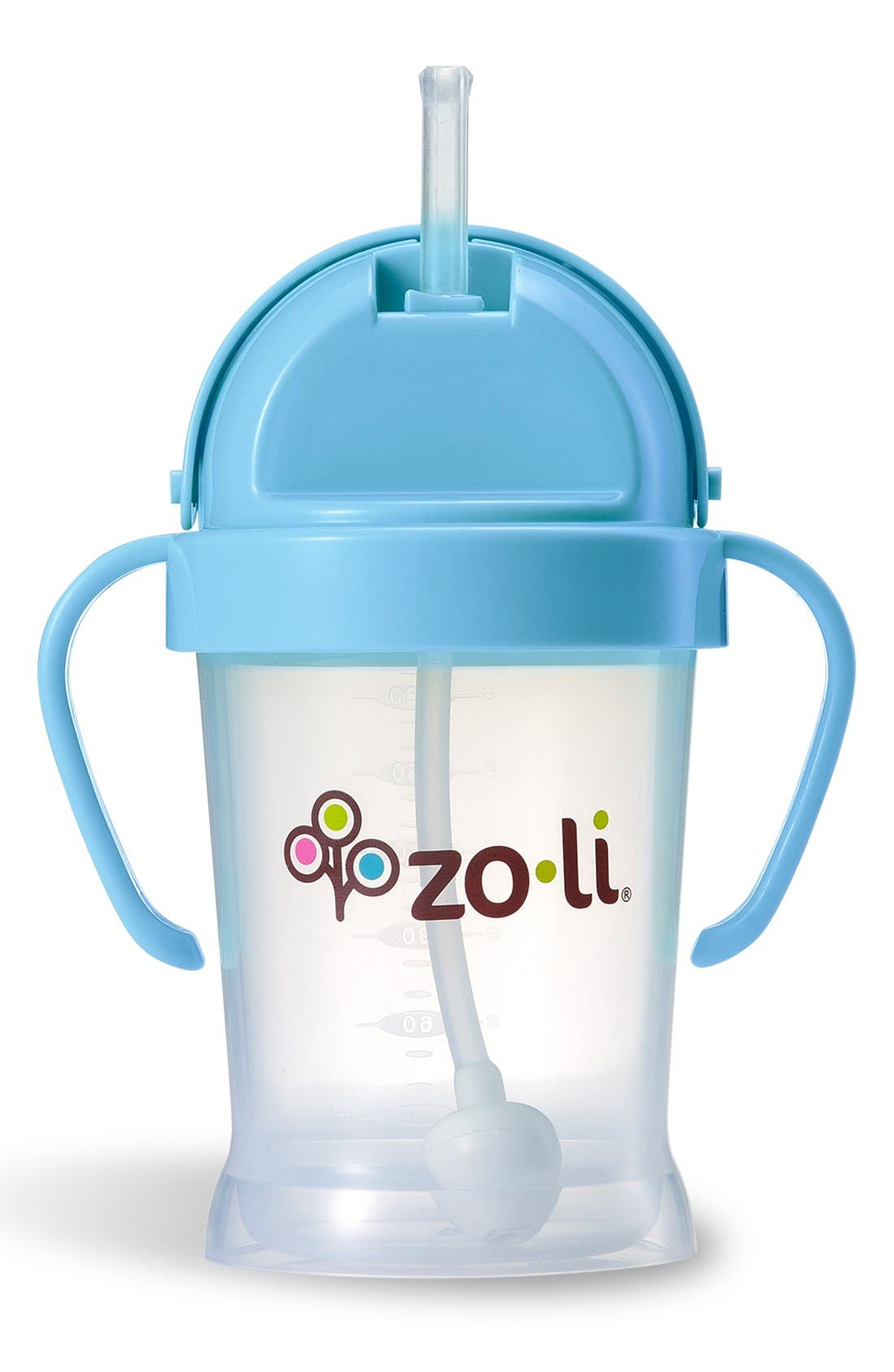 'BOT' Sippy Cup,                             Main thumbnail 1, color,                             Blue