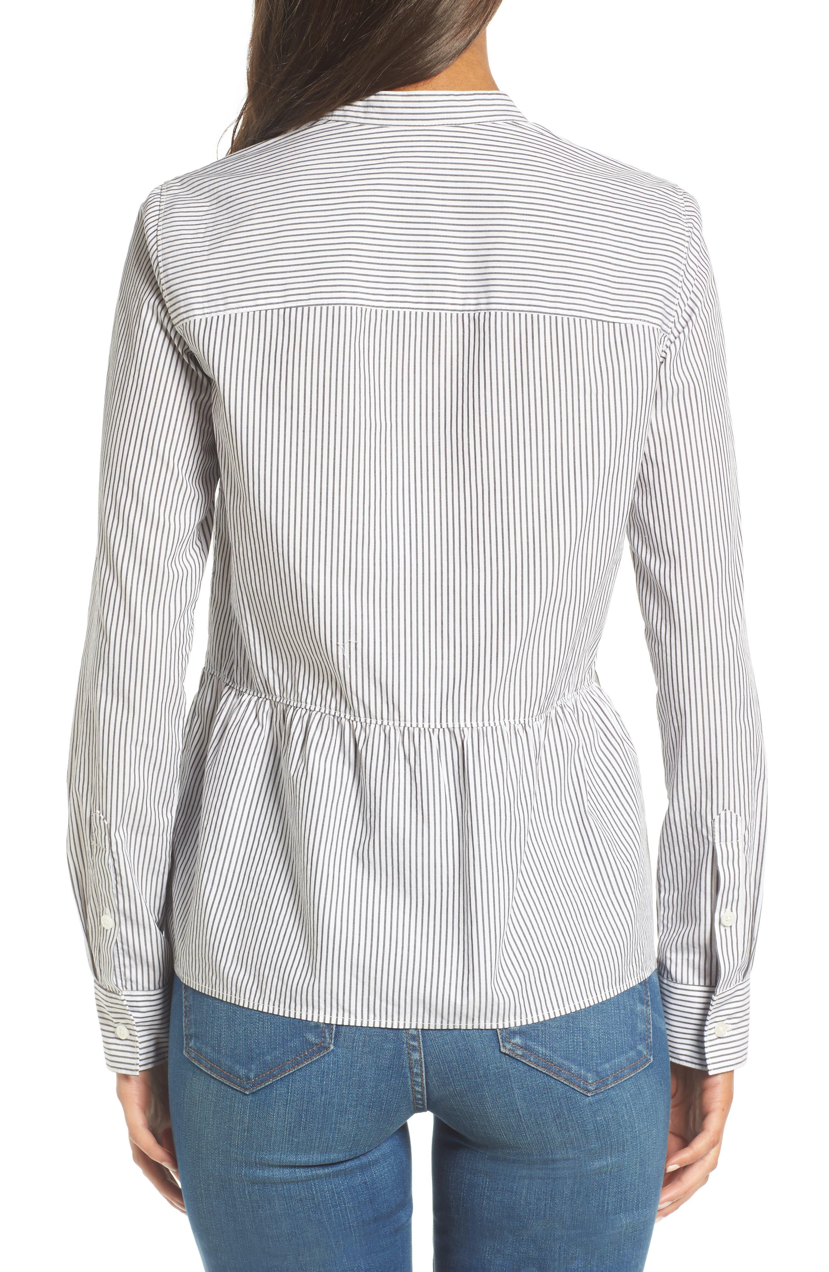 Alternate Image 3  - Madewell Peplum Shirt