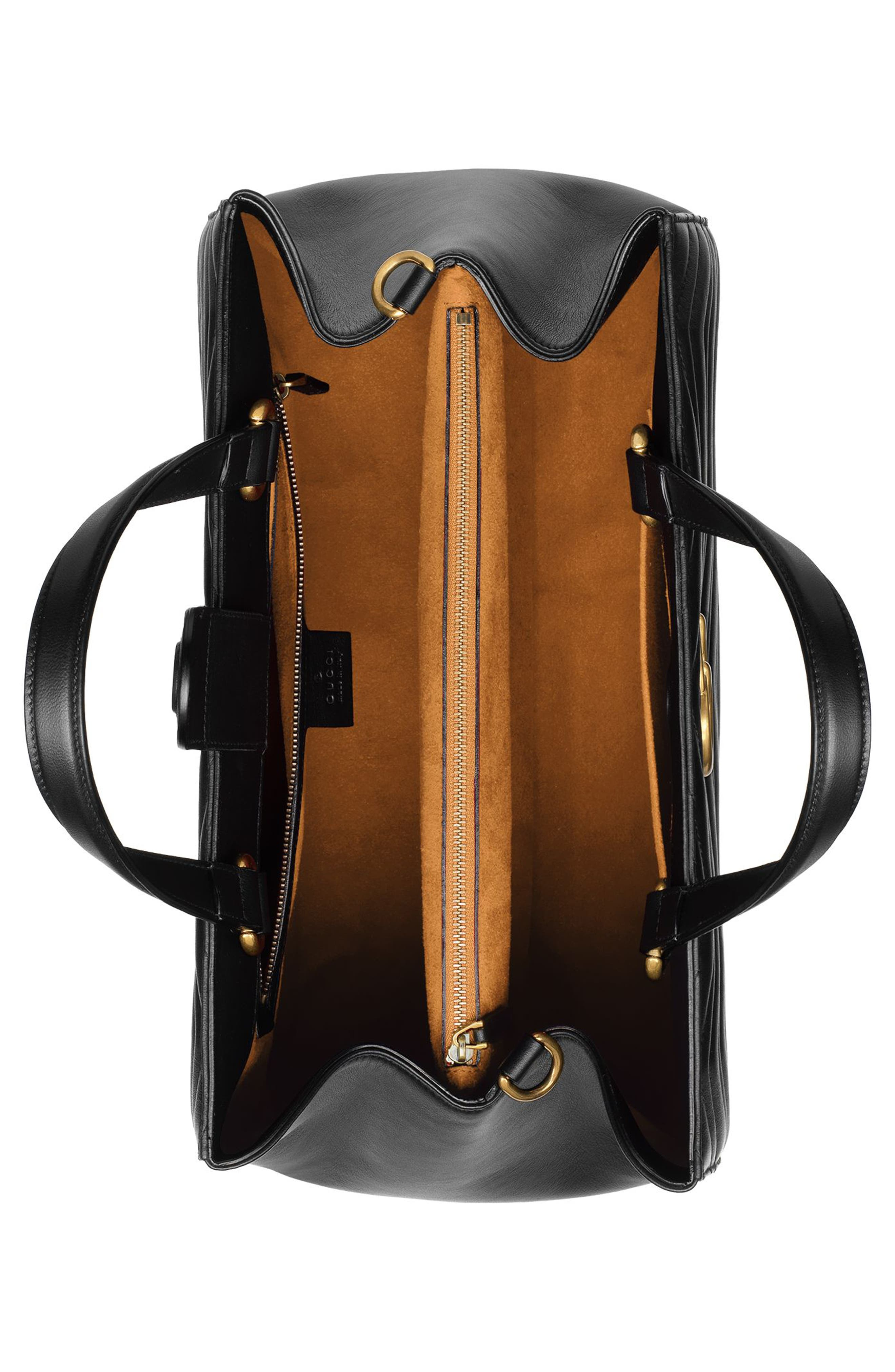 Alternate Image 3  - Gucci GG Marmont Medium Matelassé Leather Top Handle Shoulder Bag