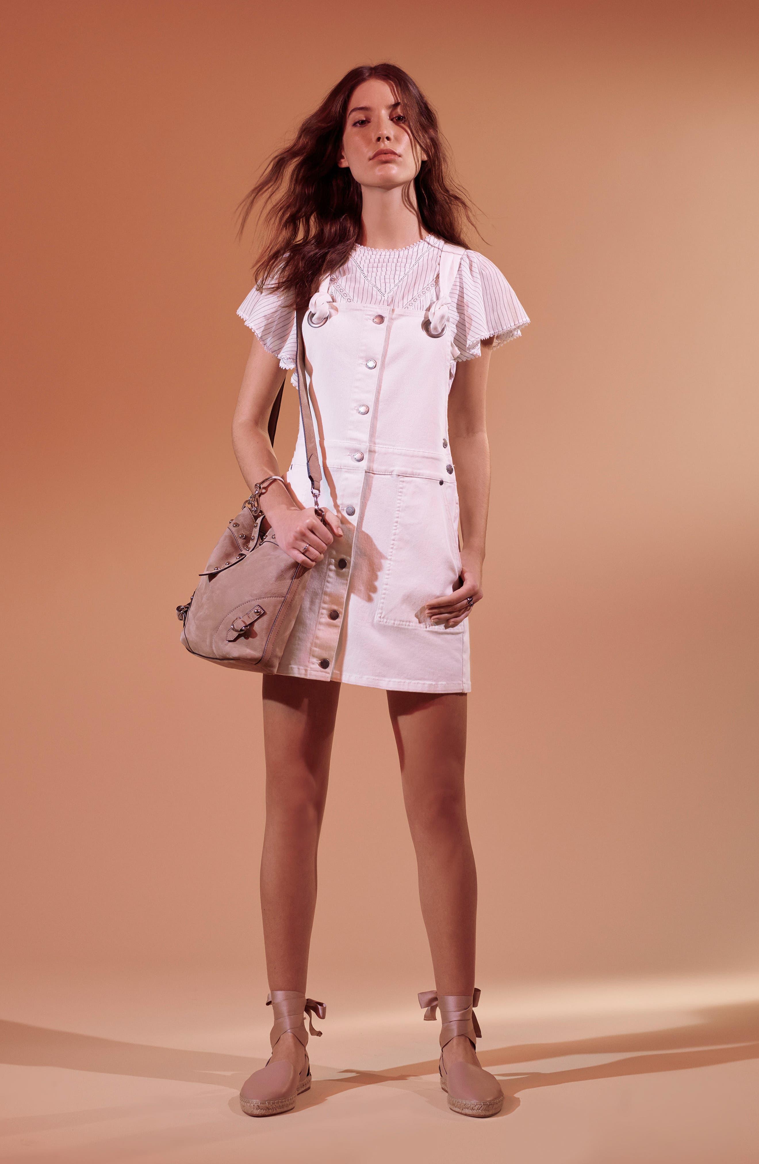 Alternate Image 2  - Rebecca Minkoff Rose Leather Bucket Bag