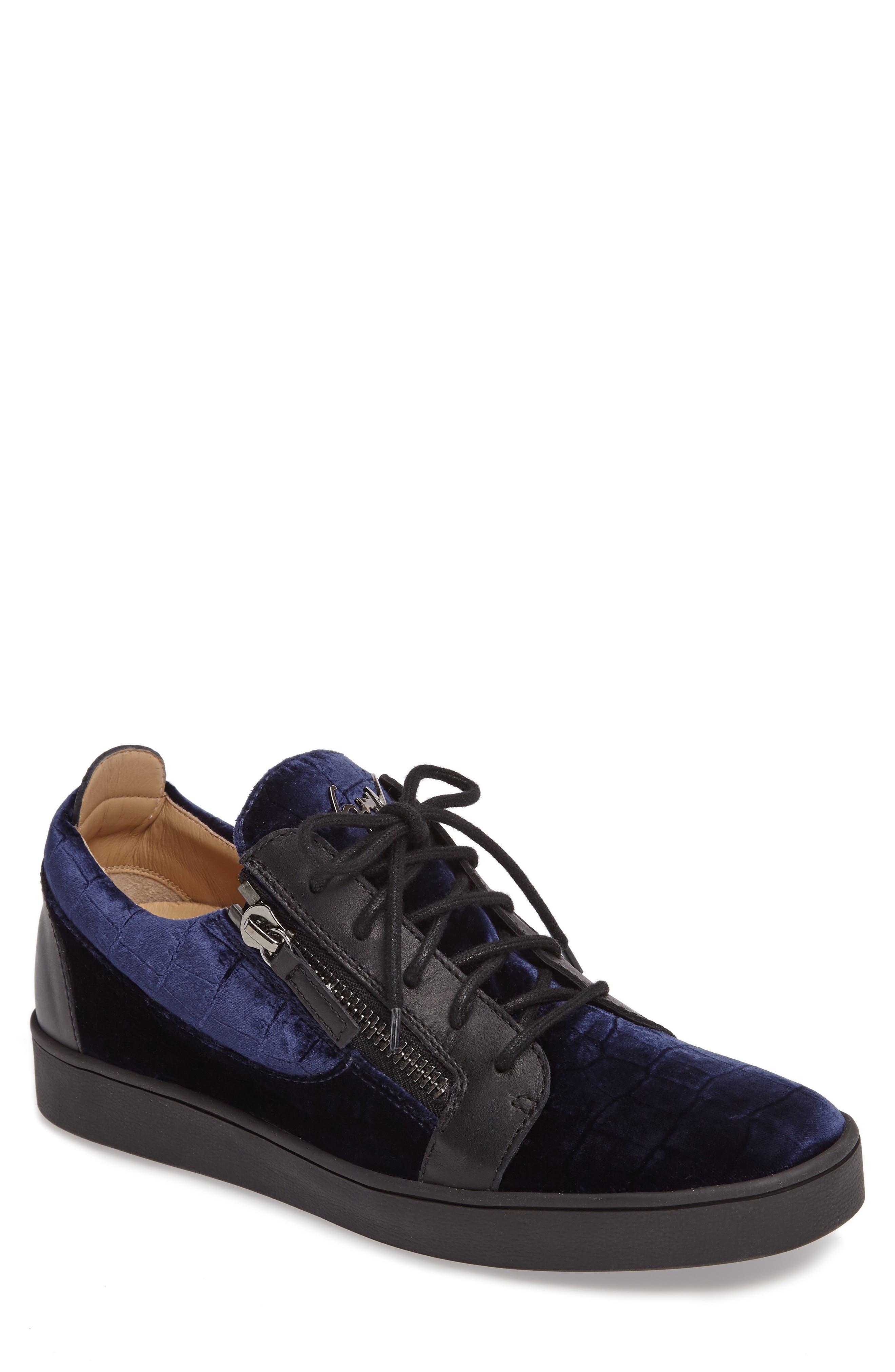 Low Top Sneaker,                         Main,                         color, Navy