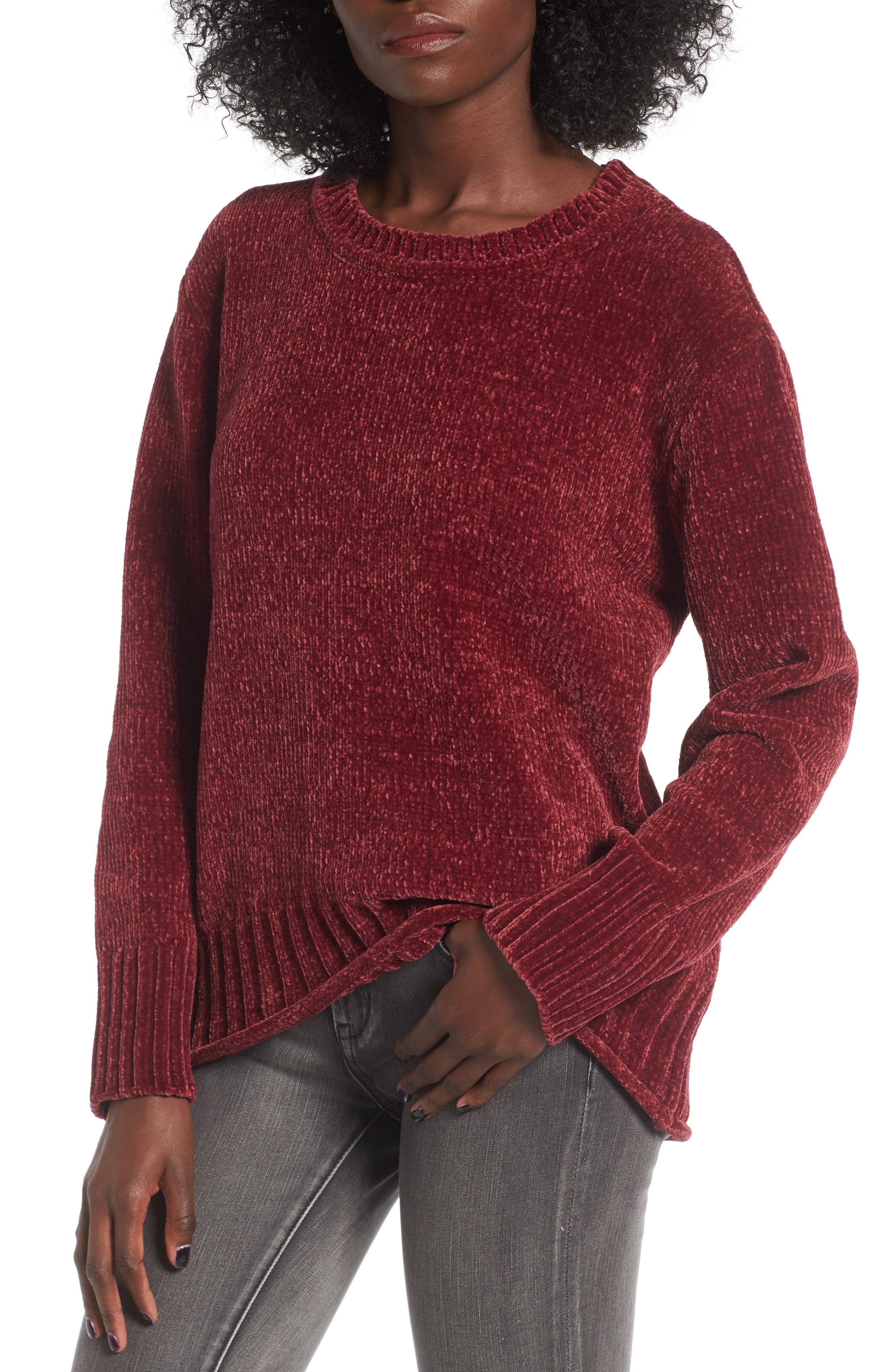 Love By Design Chenille Pullover