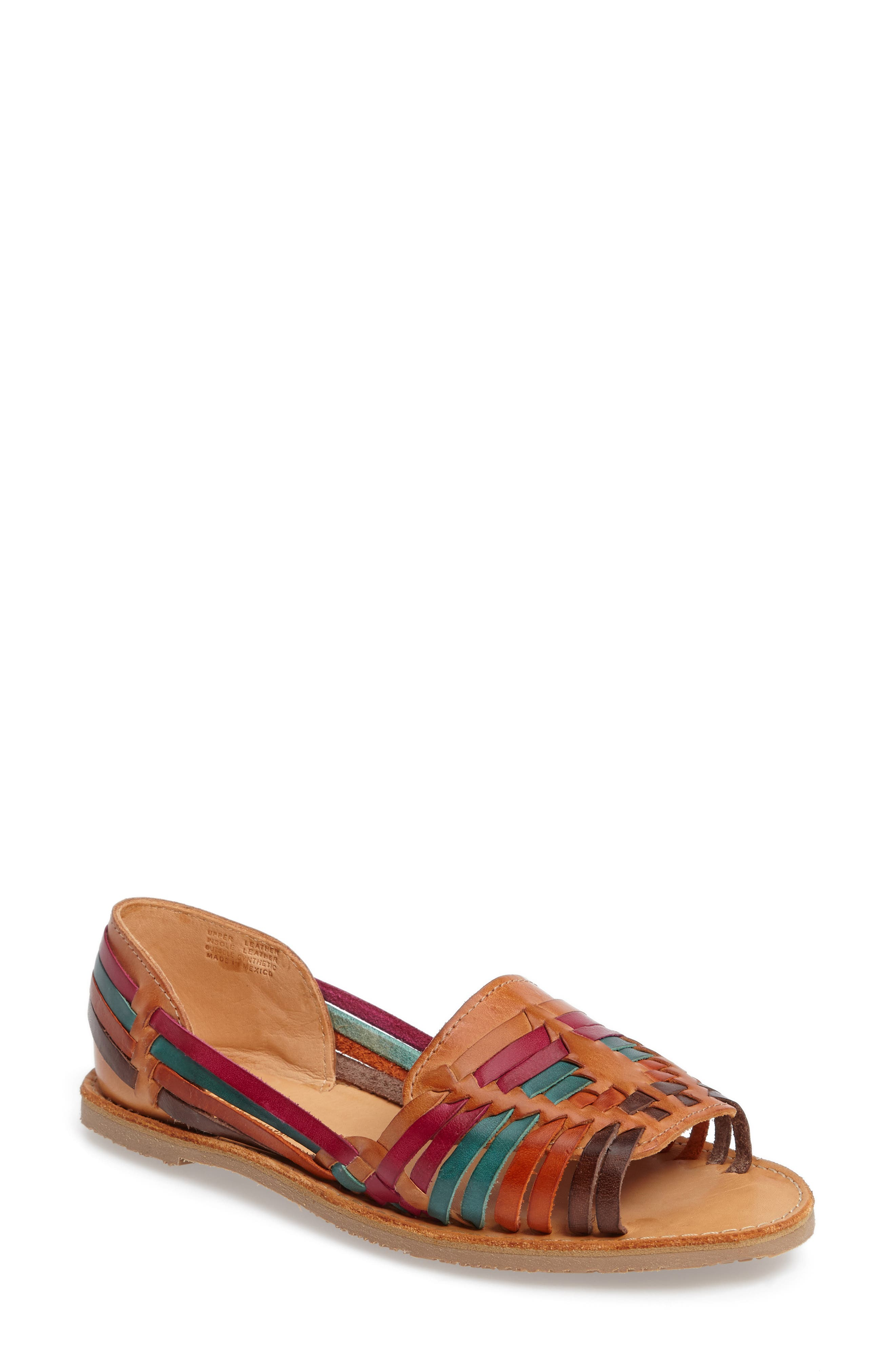 Alternate Image 1 Selected - Sbicca Jared Peep Toe Flat (Women)