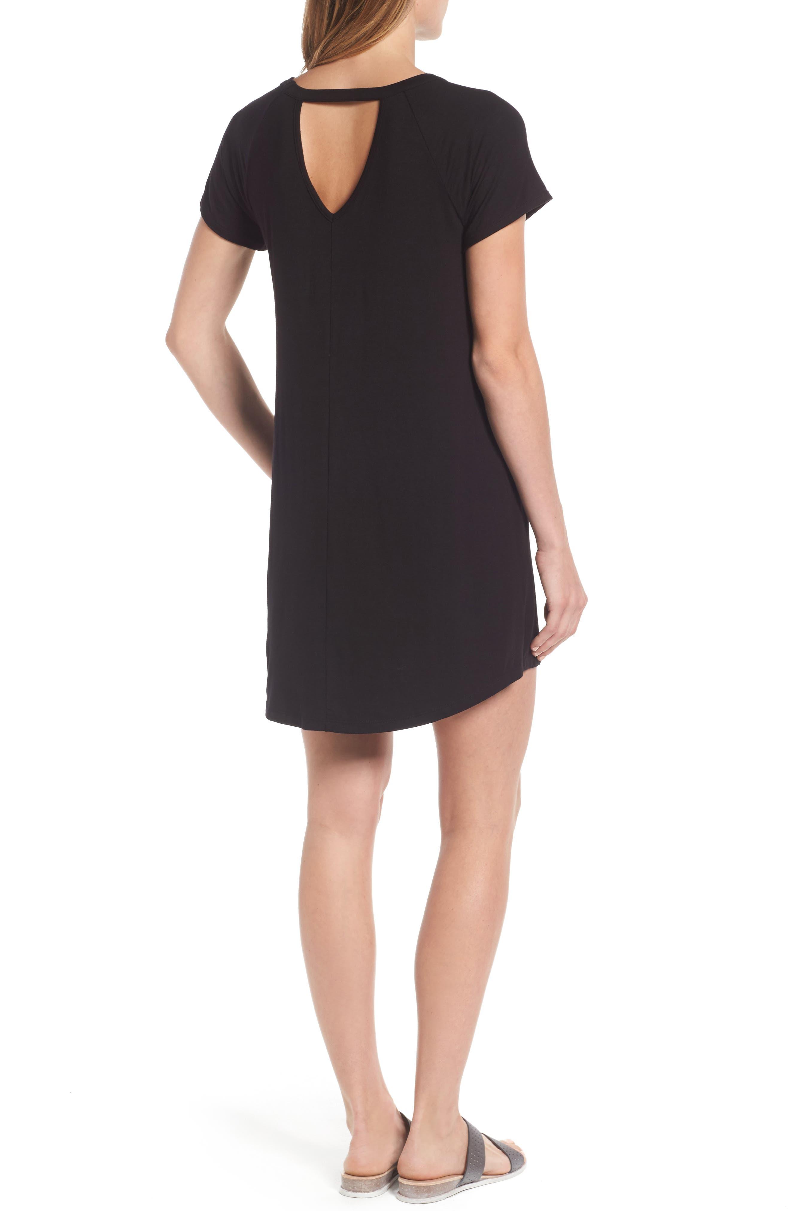 Alternate Image 2  - Bobeau Back Cutout Tunic Dress (Regular & Petite)