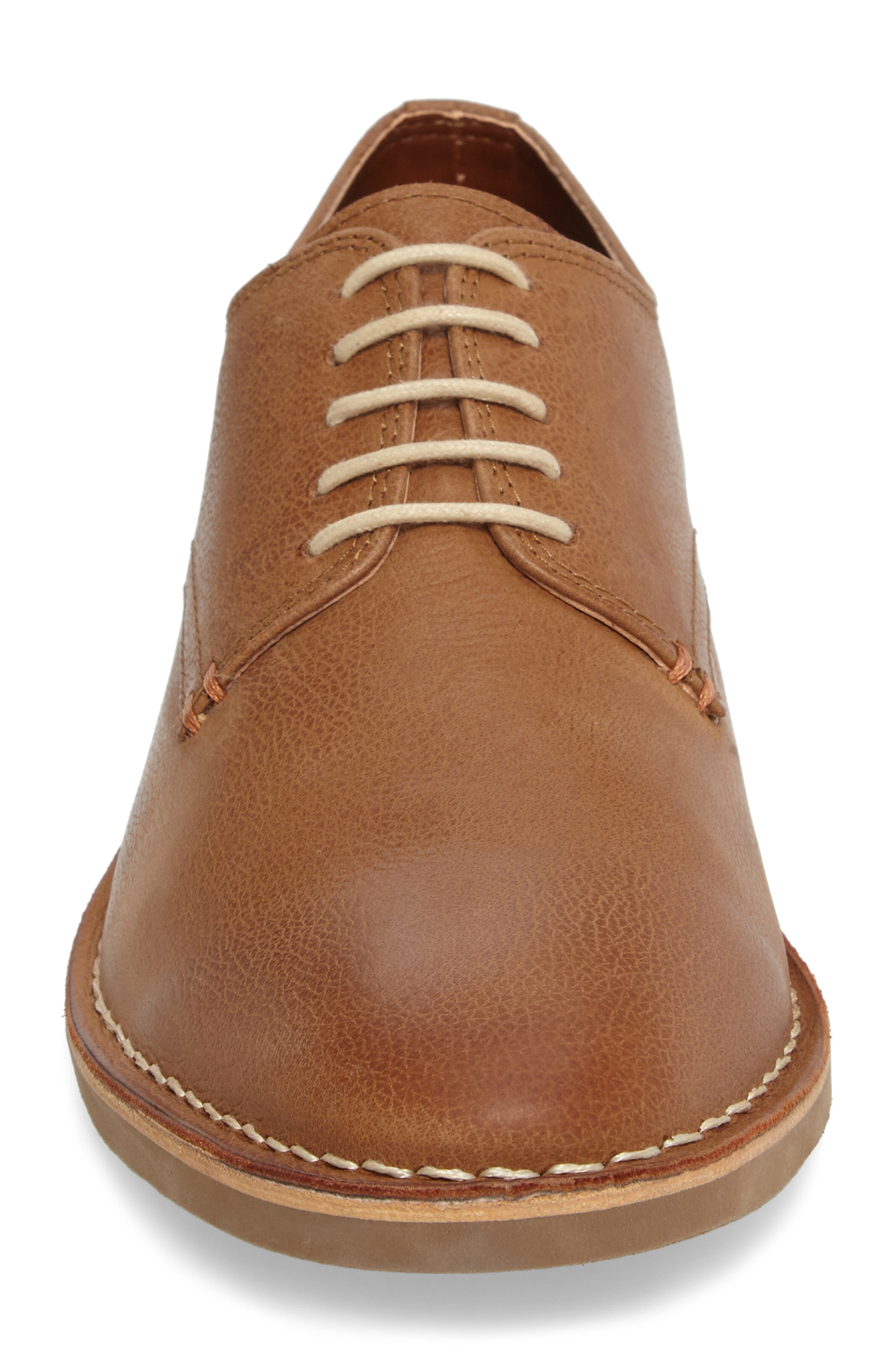 Kenneth Cole New York En-Deer-ing Derby,                             Alternate thumbnail 4, color,                             Tan Leather
