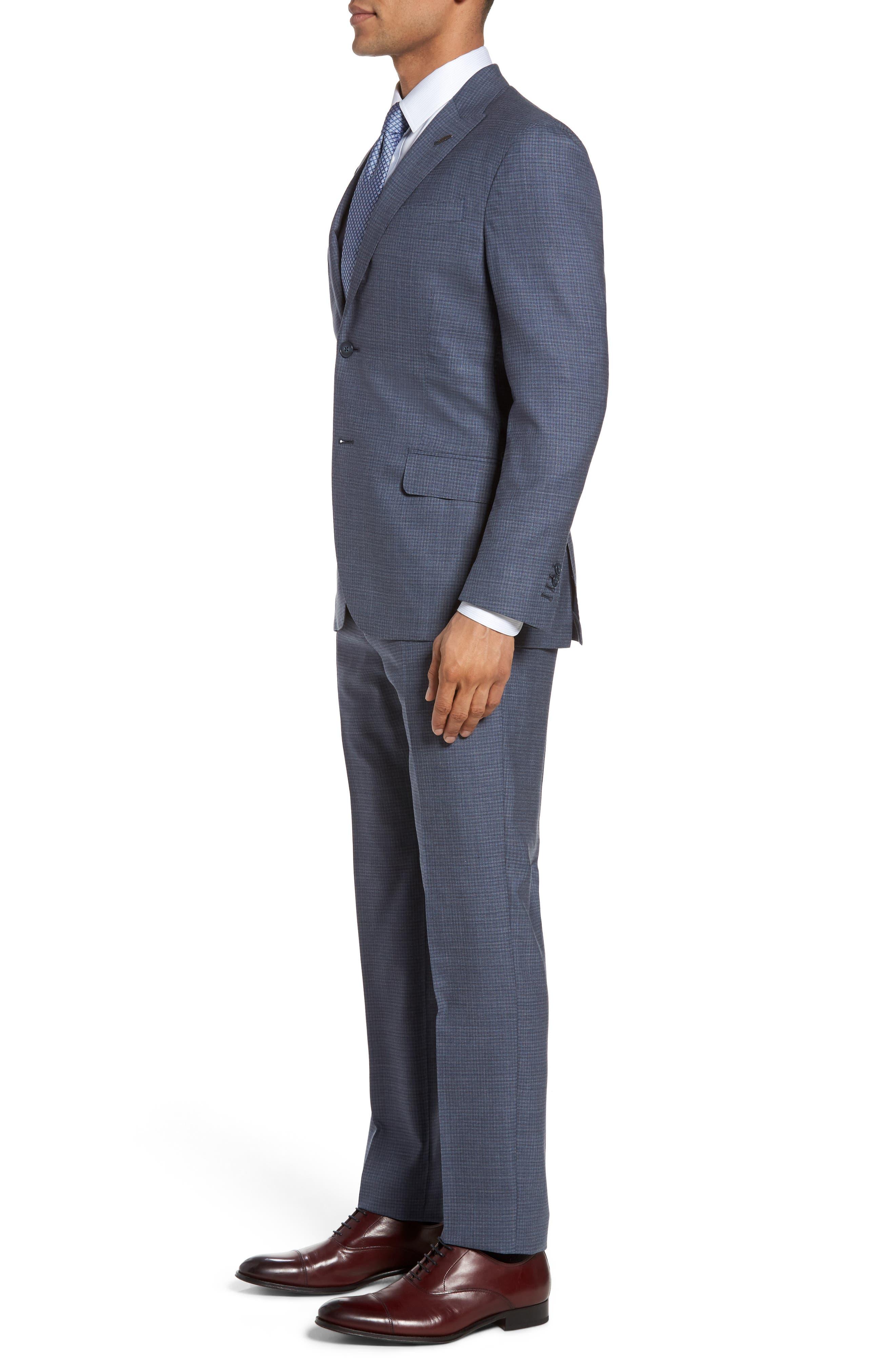 Alternate Image 3  - Michael Bastian Classic Fit Check Wool Suit