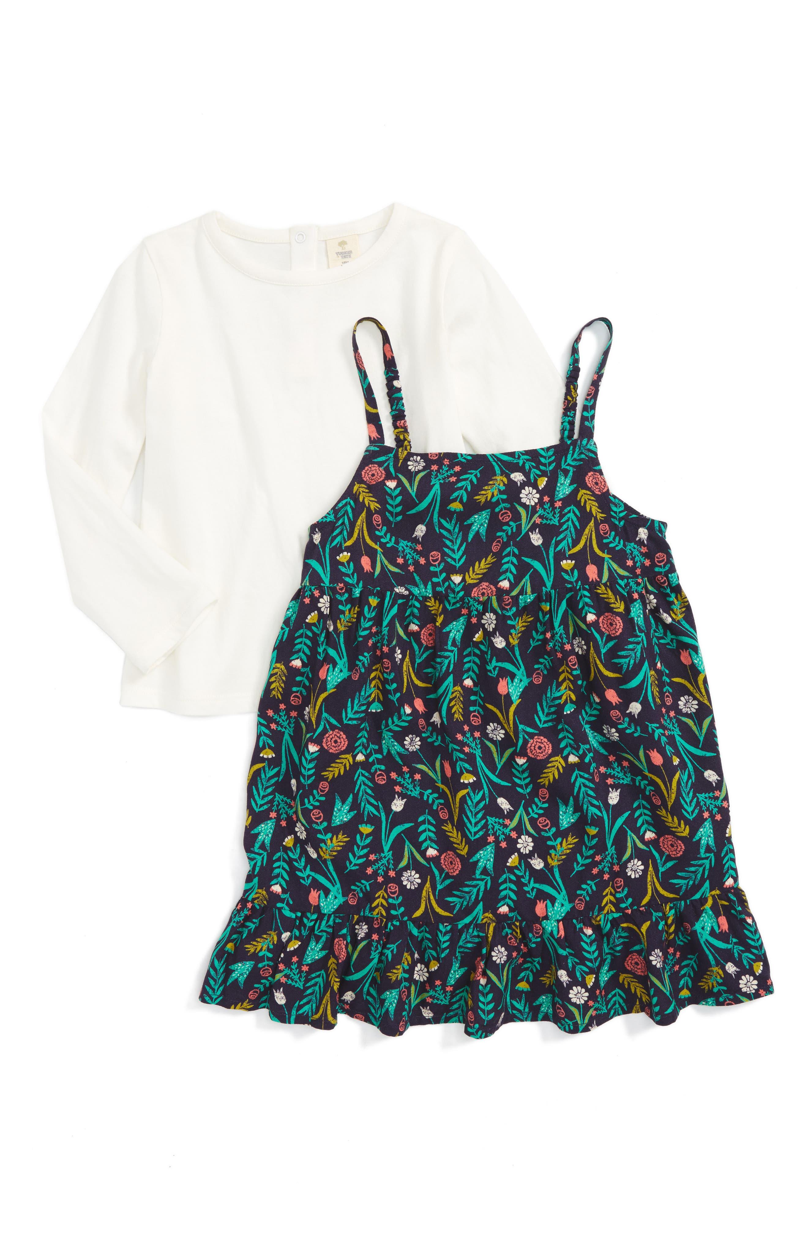 Tucker + Tate Dress & Tee Set (Baby Girls)