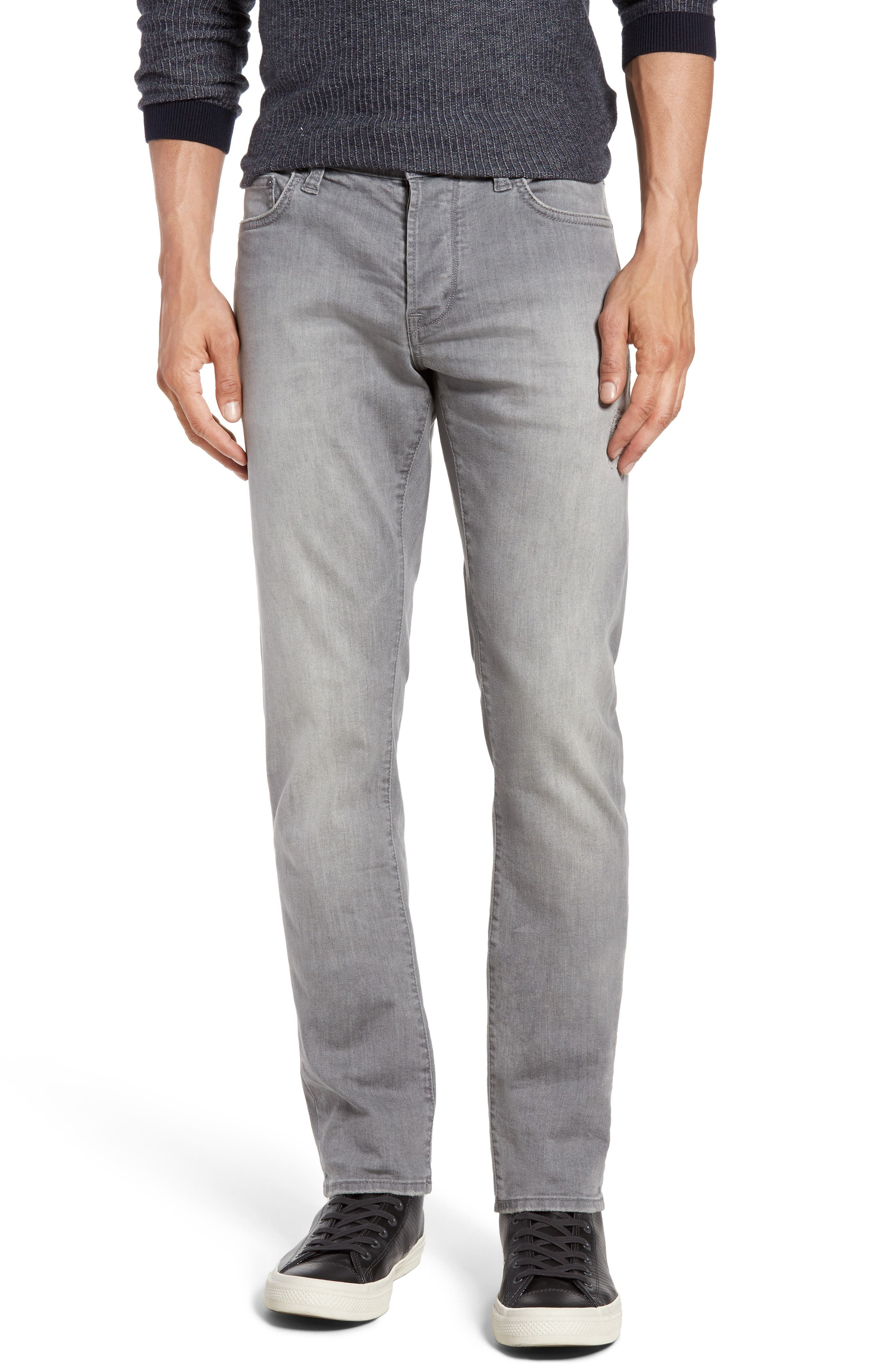 Wight Skinny Jeans,                         Main,                         color, Medium Grey