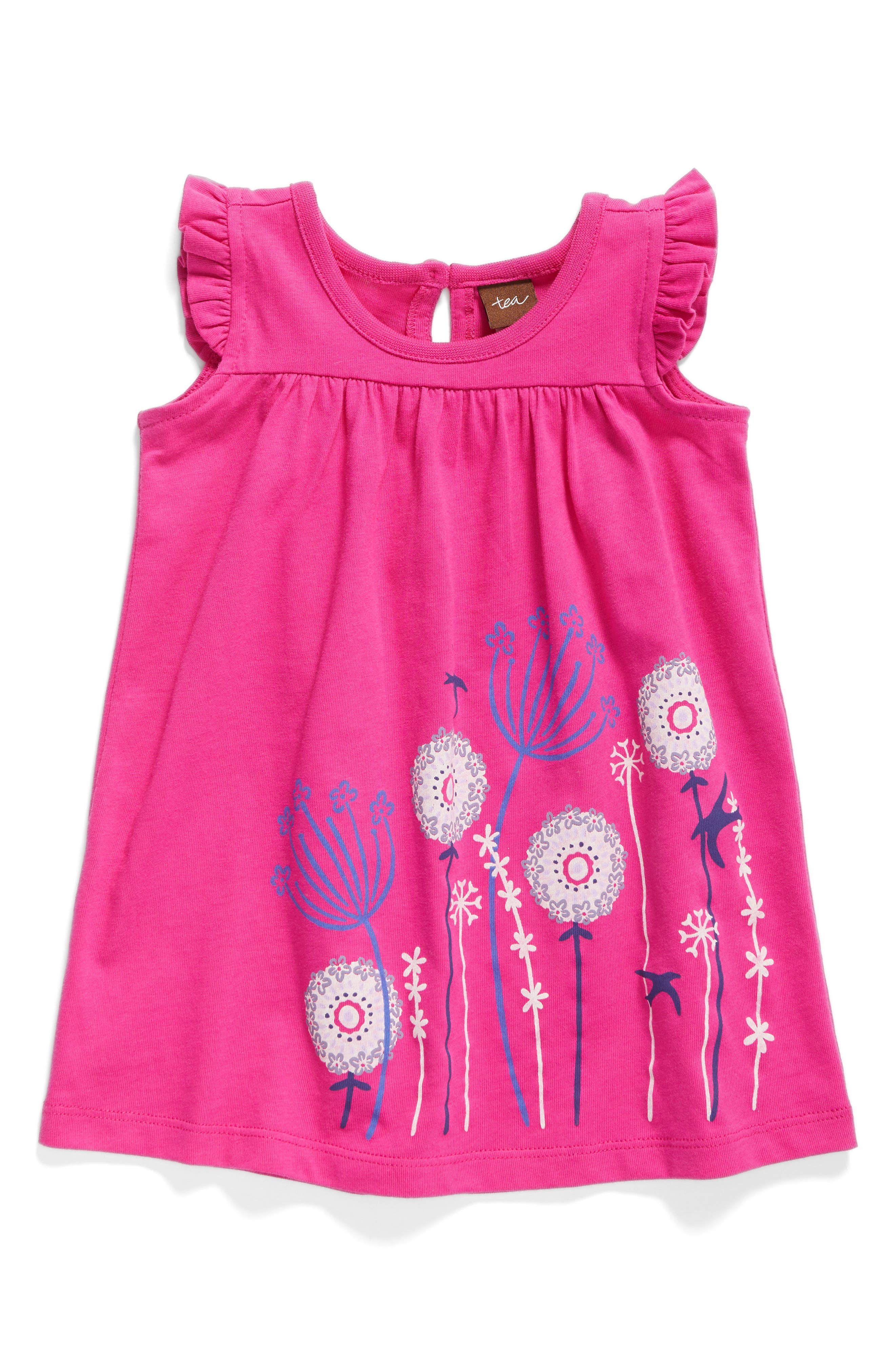 Tea Collection Graphic Knit Dress (Baby Girls)
