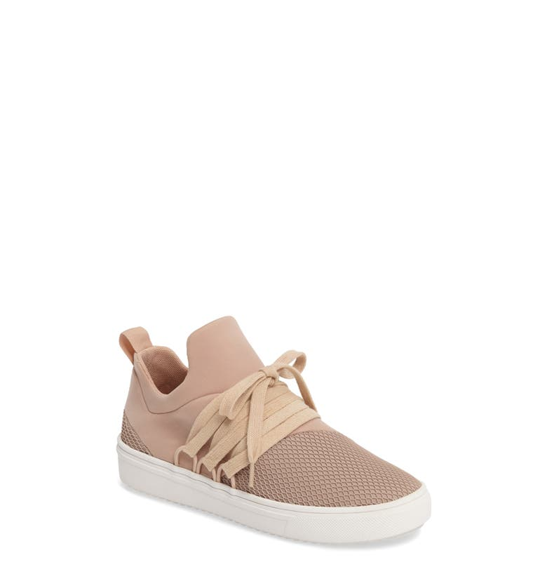 Steve Madden Blush Velvet Tennis Shoes