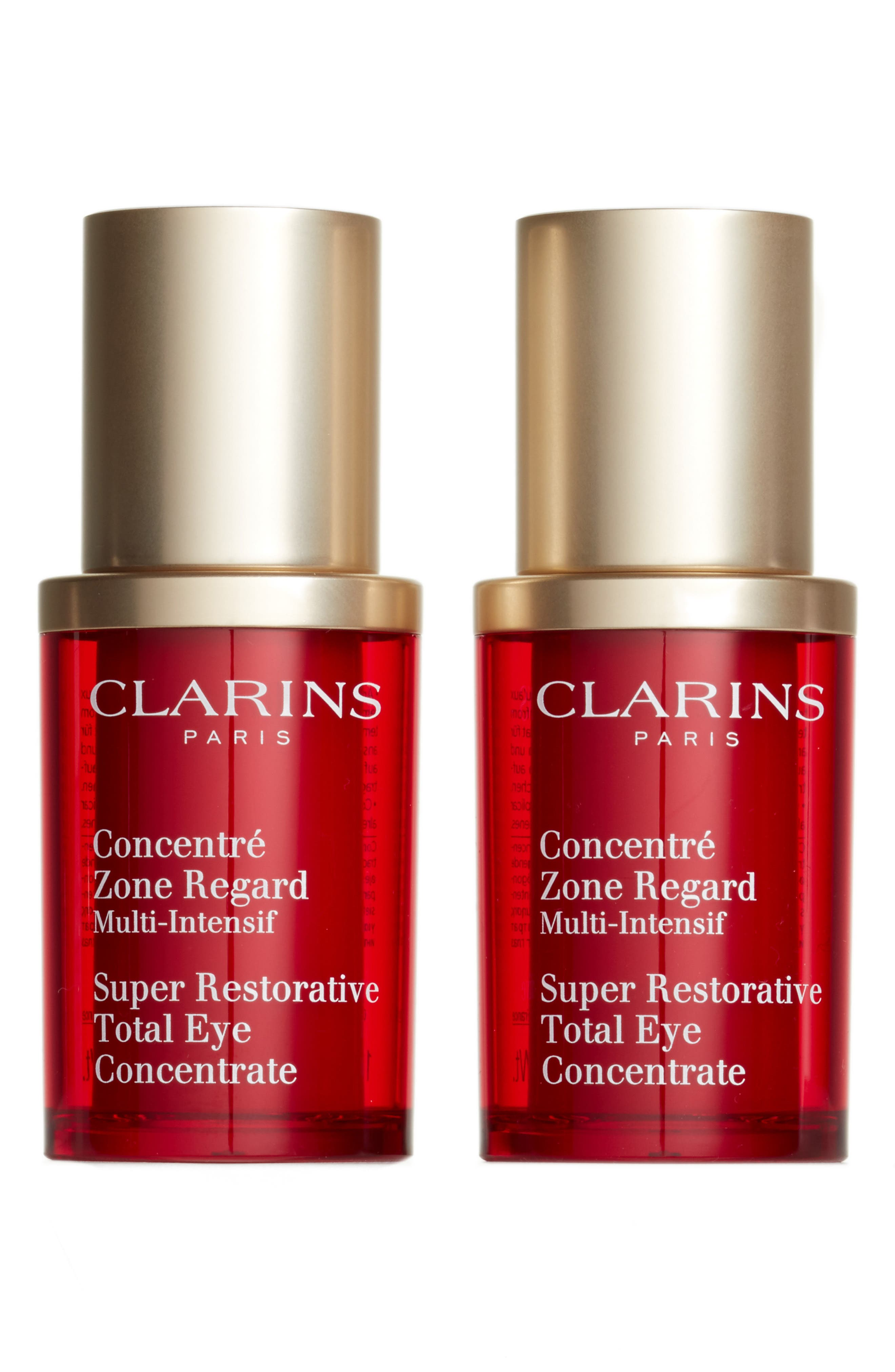 Alternate Image 1 Selected - Clarins Super Restorative Total Eye Concentrate Duo ($170 Value)