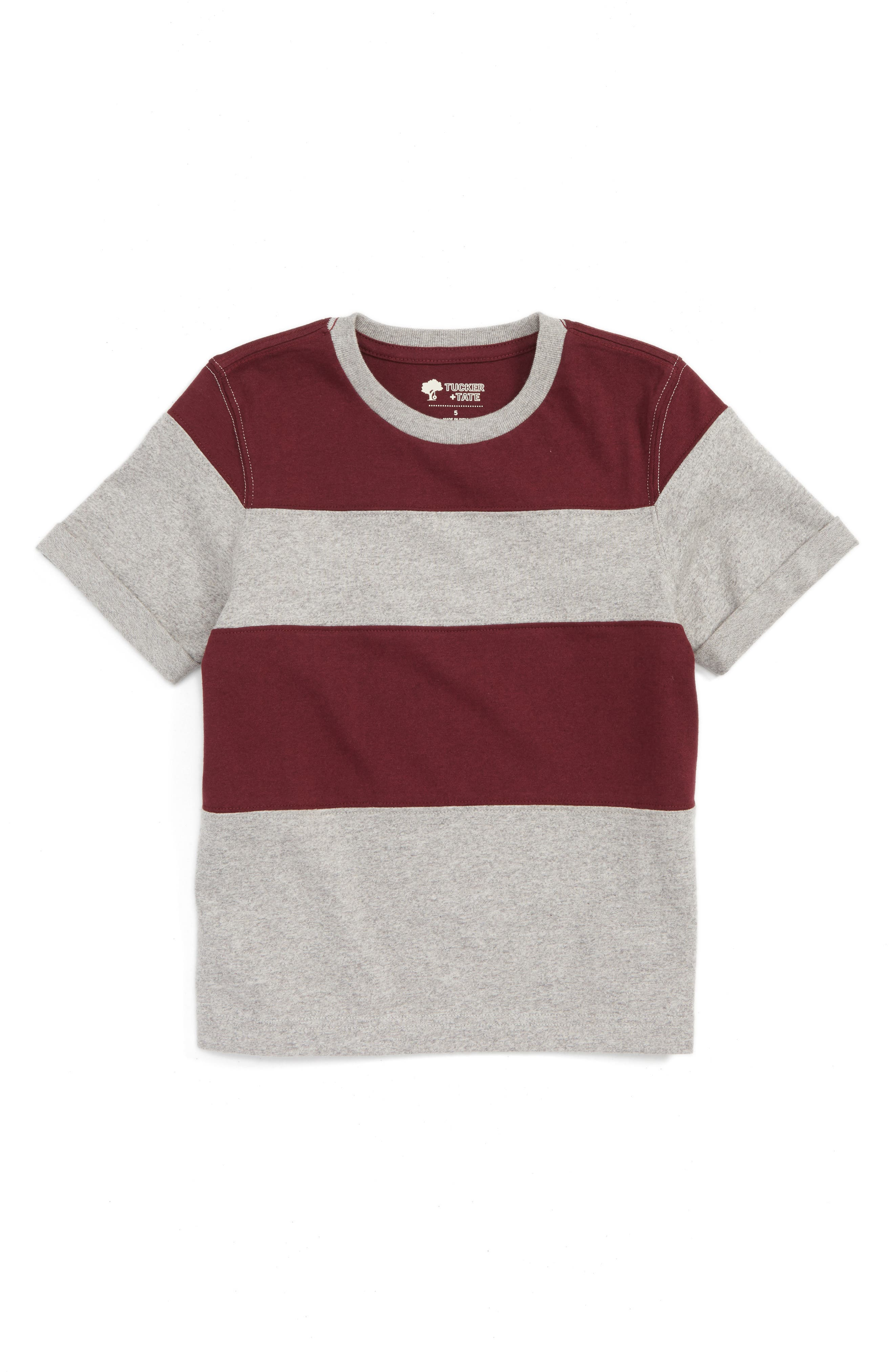 Tucker + Tate Pieced Colorblock T-Shirt (Toddler Boys & Little Boys)