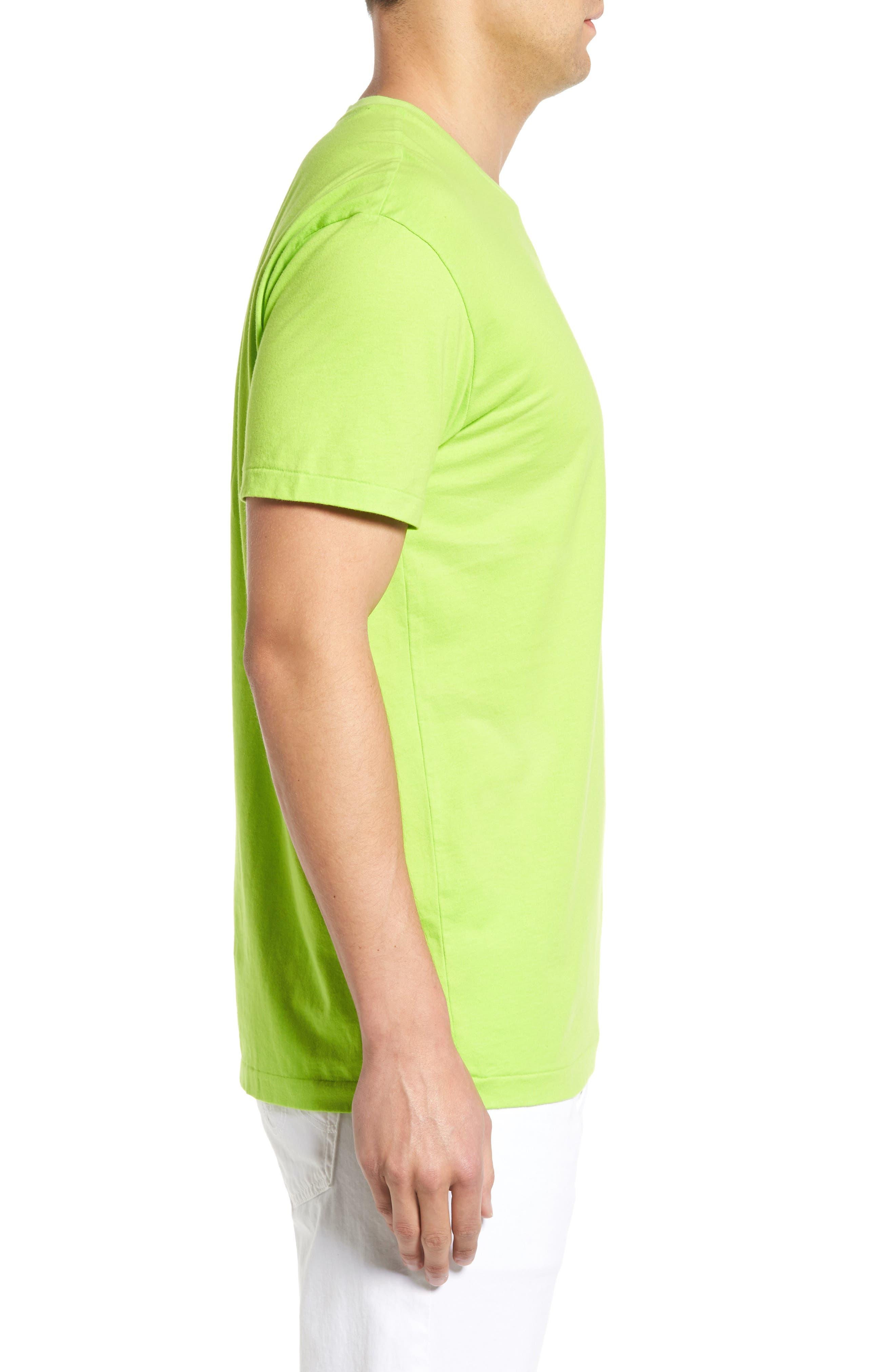 Markham Square T-Shirt,                             Alternate thumbnail 3, color,                             Marathon Green