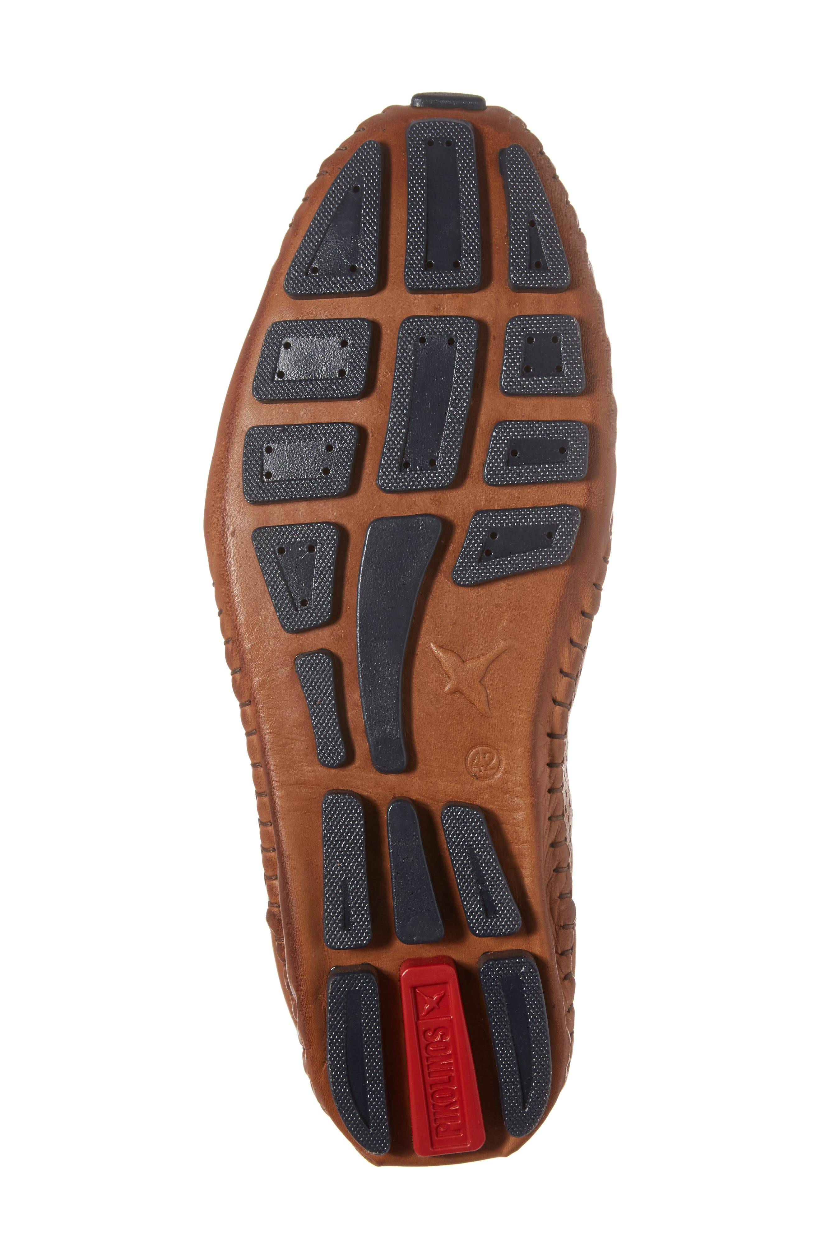 Fuencarral Driving Shoe,                             Alternate thumbnail 6, color,                             Brandy Leather