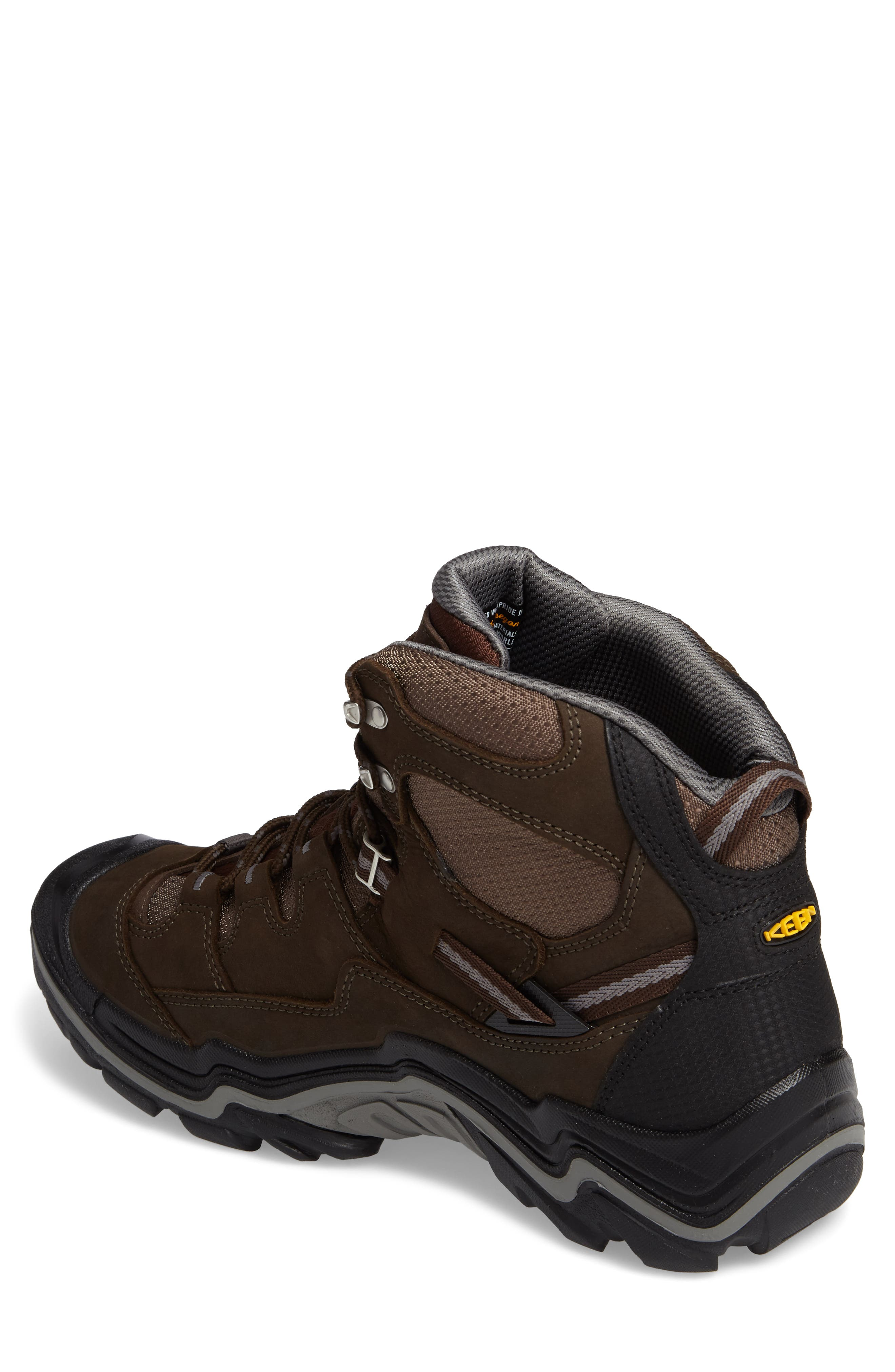 Alternate Image 2  - Keen Durand Mid Waterproof Hiking Boot (Men)